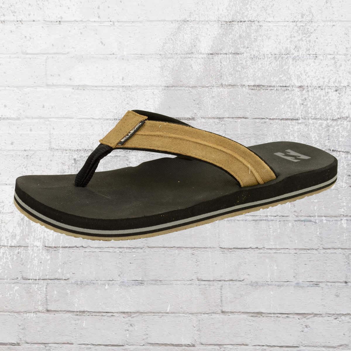 d7974869a617 Billabong Zehentrenner Sandale All Day Impact Lux bootstauglich schwarz  braun