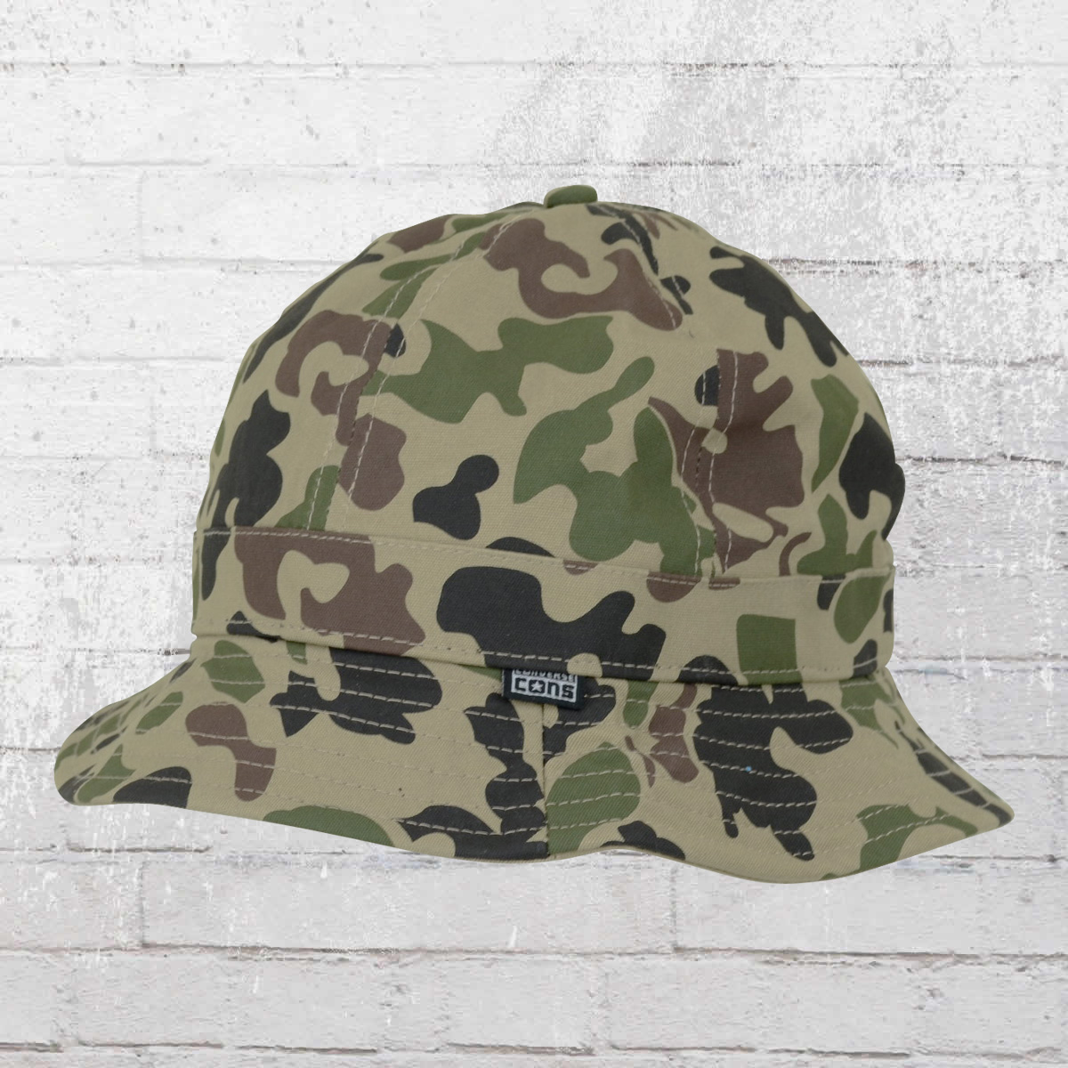 90b12b10f52ab Order now | Converse 6 Panel Camo Bucket Fishing Hat camouflage