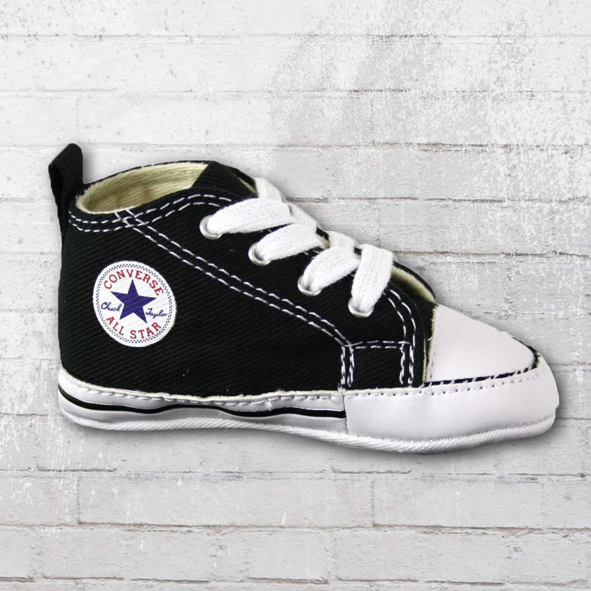 173a6c829c82f4 Converse Baby Shoes First Star black white. ›‹ «