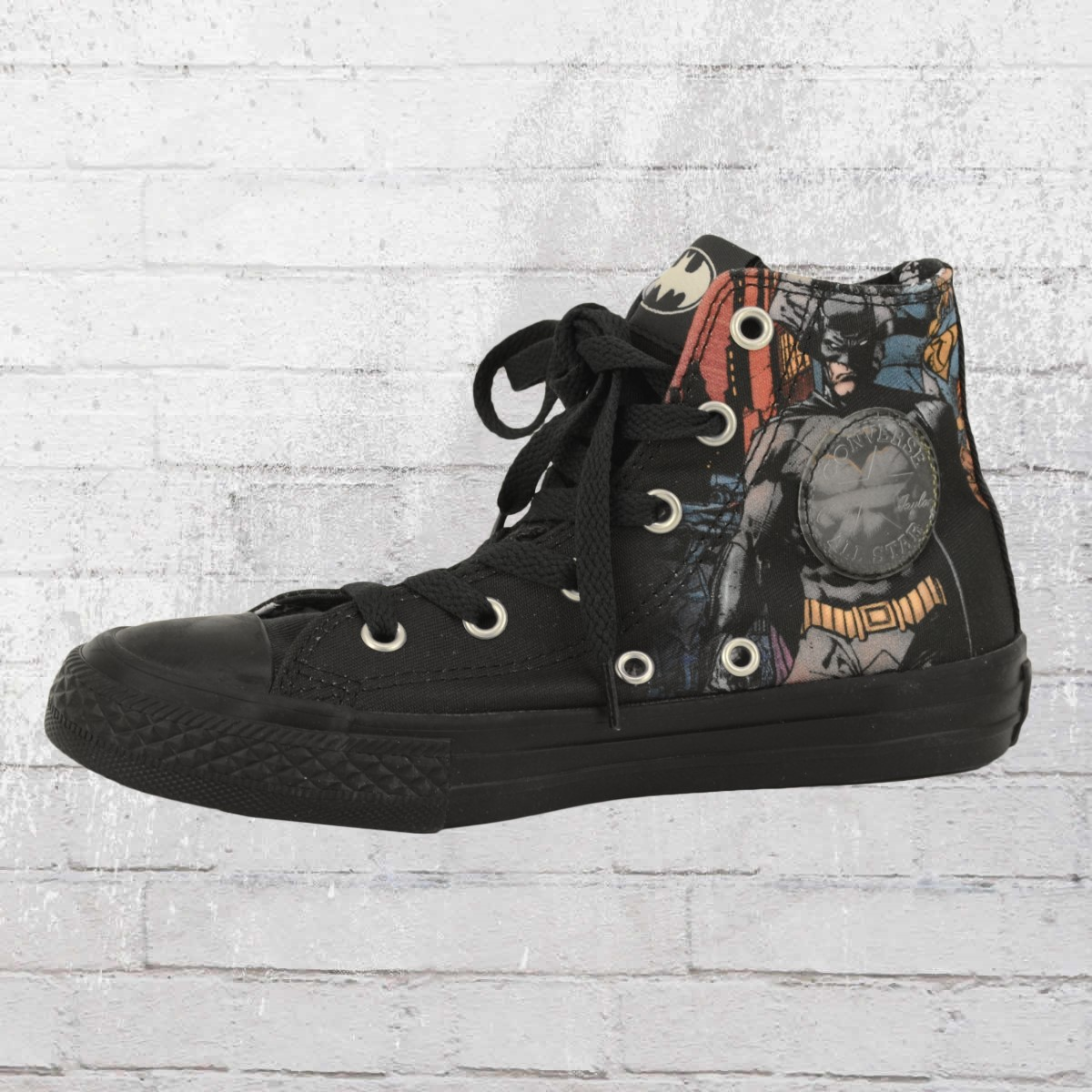 87481939b366 Converse Batman Comic Chucks Kids Shoes black. ›‹ «