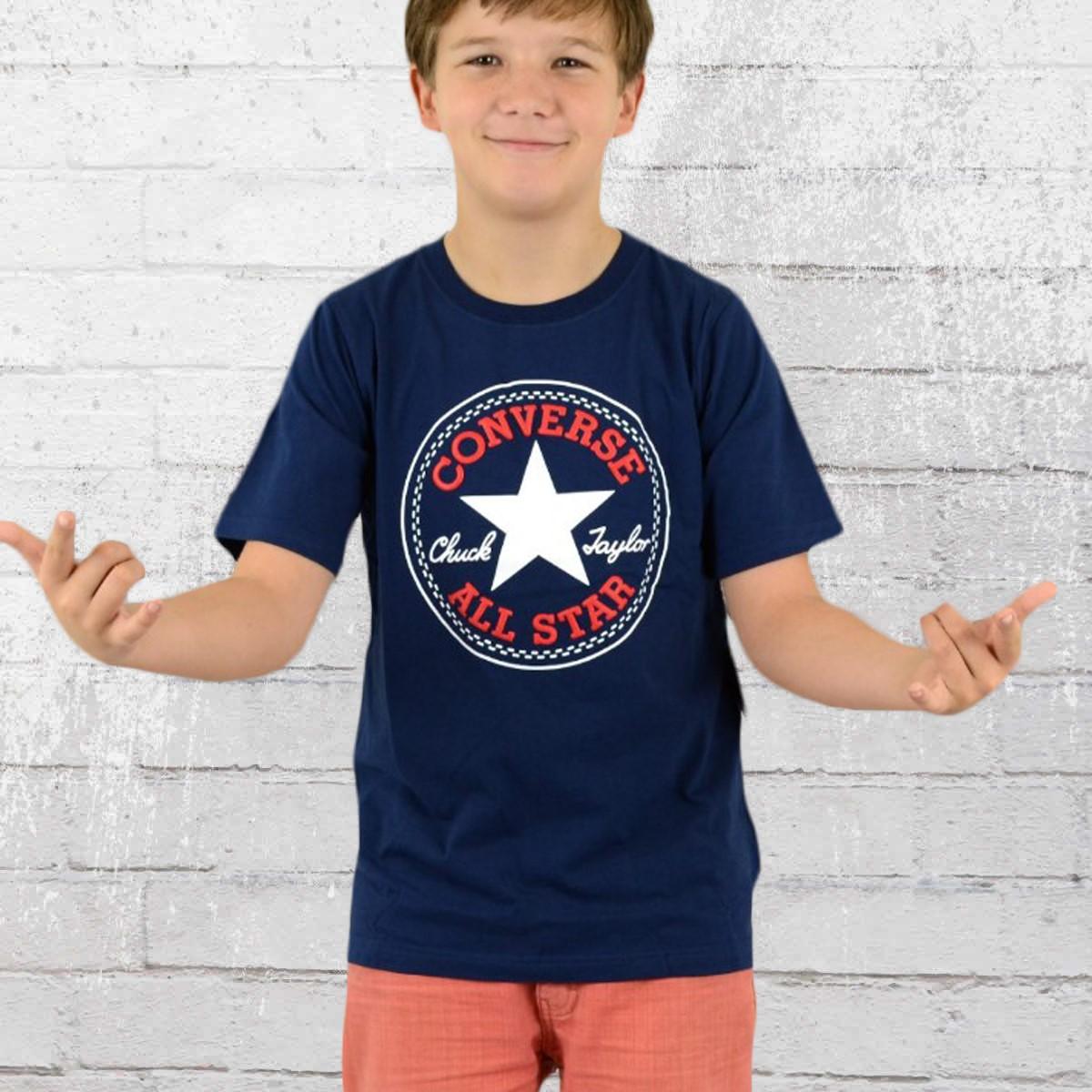 337bf69583b0 Converse Kids Tee-Shirt Chuck Patch T navy. ›‹ «