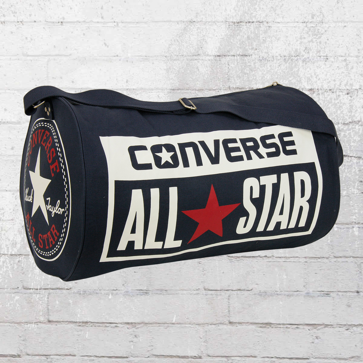 1e9c9dd922ba Converse Legacy Duffel Shoulder Bag navy red