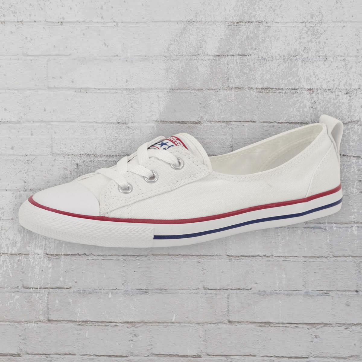 80cb4a8ac3d7 Converse Women CT Ballet Lace 549397 C Shoes Ballerina white