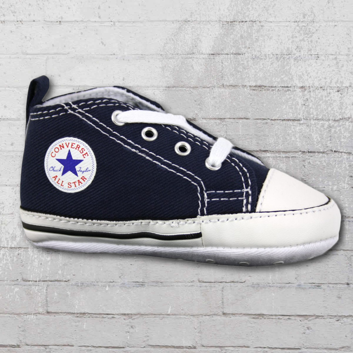 48e7947ee07 Converse Shoes First Star Baby Chucks 88865 navy. ›‹ «