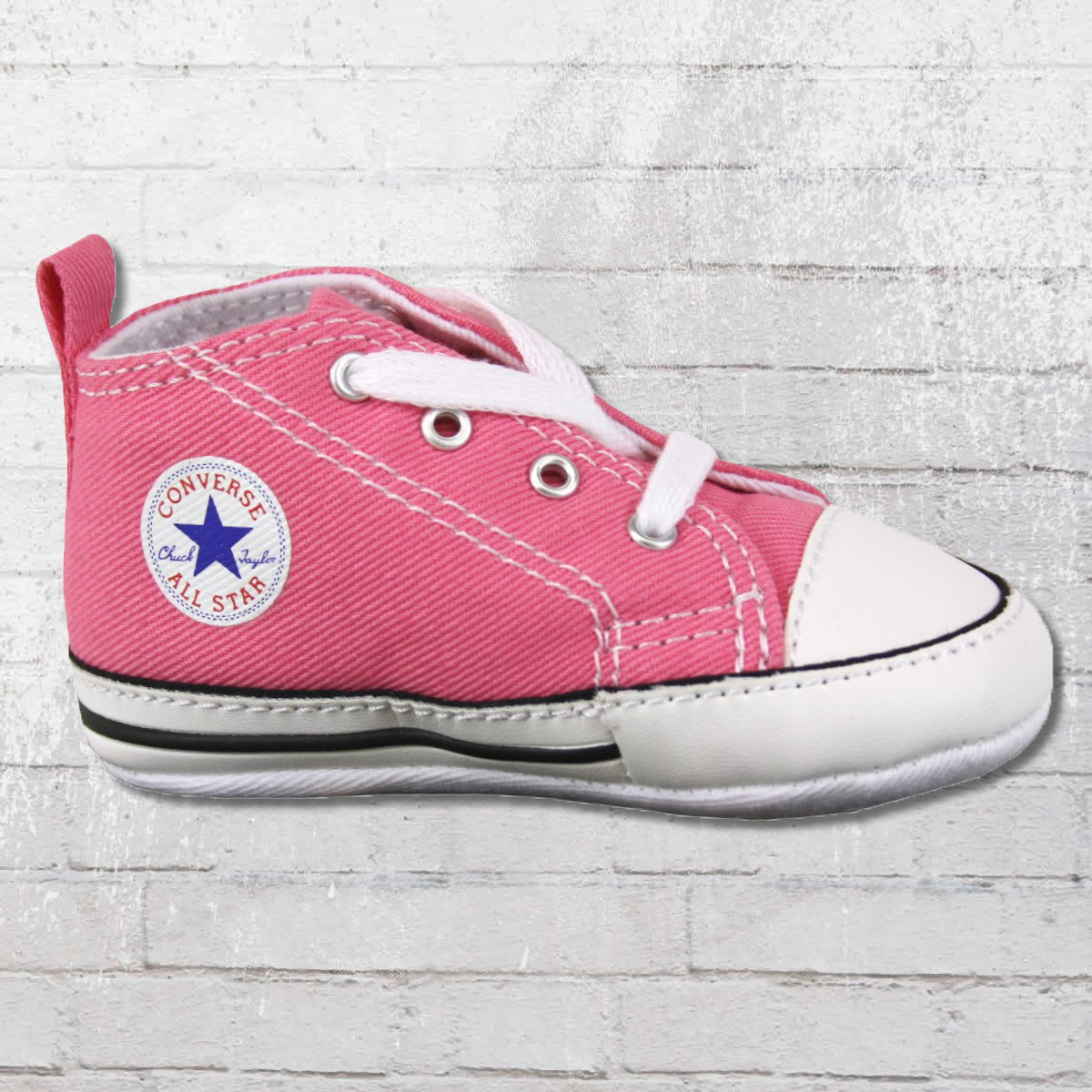 240c3c0ef147 Converse Shoes First Star Baby Chucks 88871 pink. ›‹ «