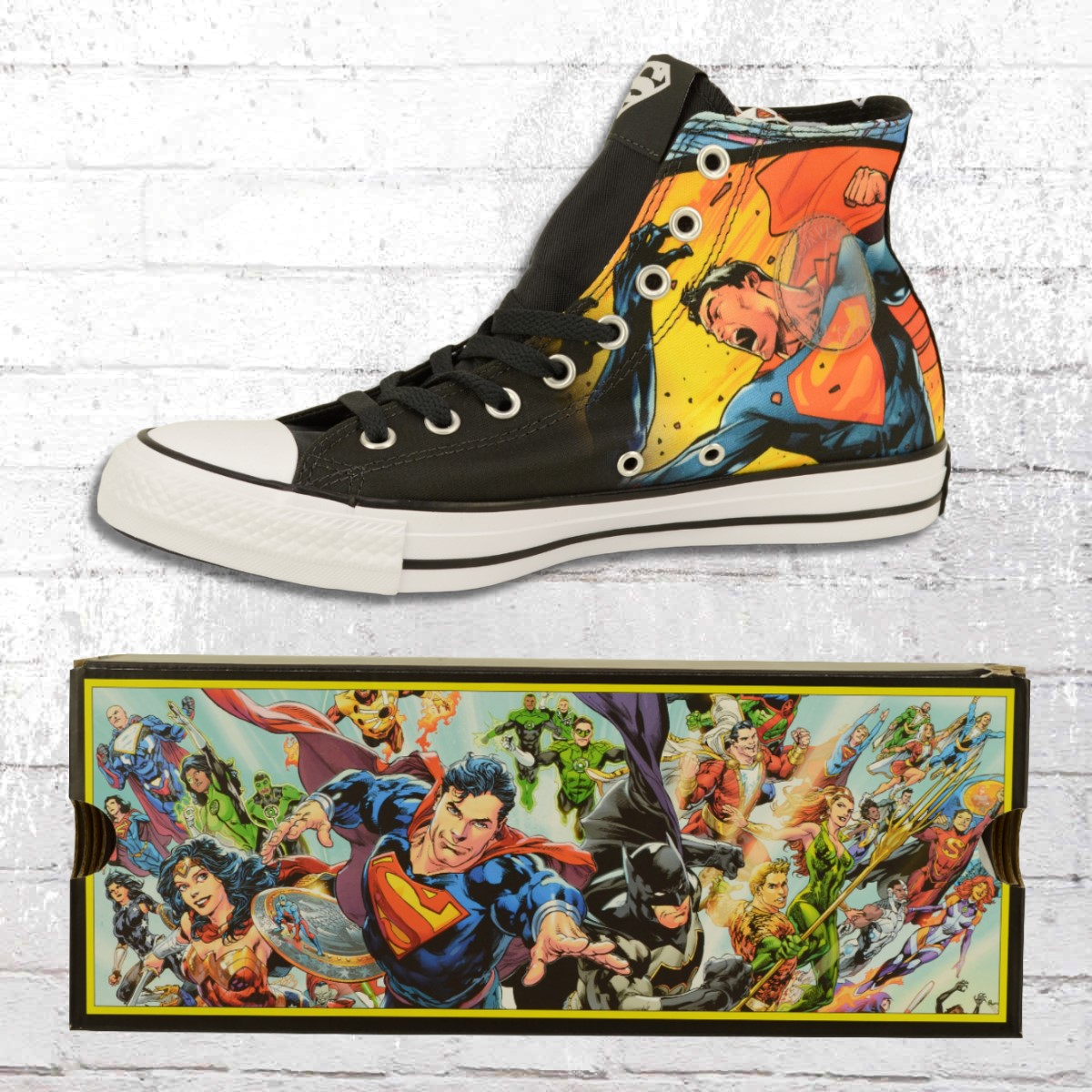 premium selection 8c0d8 d609d Jetzt bestellen | Converse Unisex Comic Chucks Superman CT ...