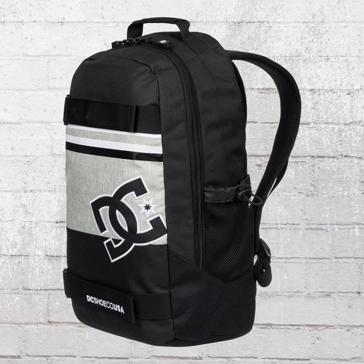 a7d41b4e4bc DC Shoes Board Catcher Rucksack Skatepack Grind Backpack black grey white.  ›‹ «