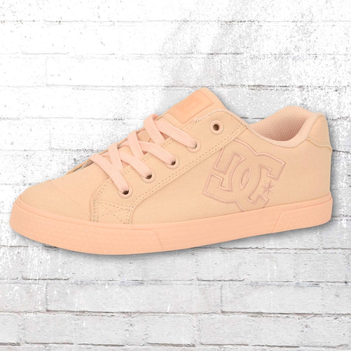84002a60d DC Shoes Ladies Sneaker Chelsea peach cream. ›‹ «