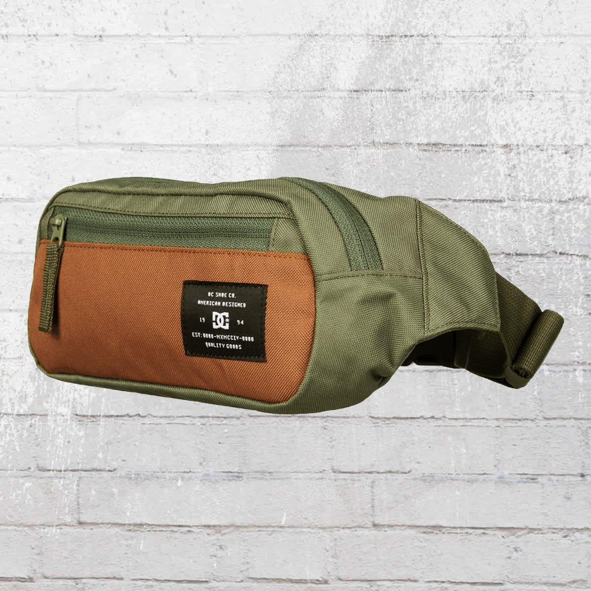 5d7226597e DC Shoes Belt Bag Farce Waist Bag olive brown