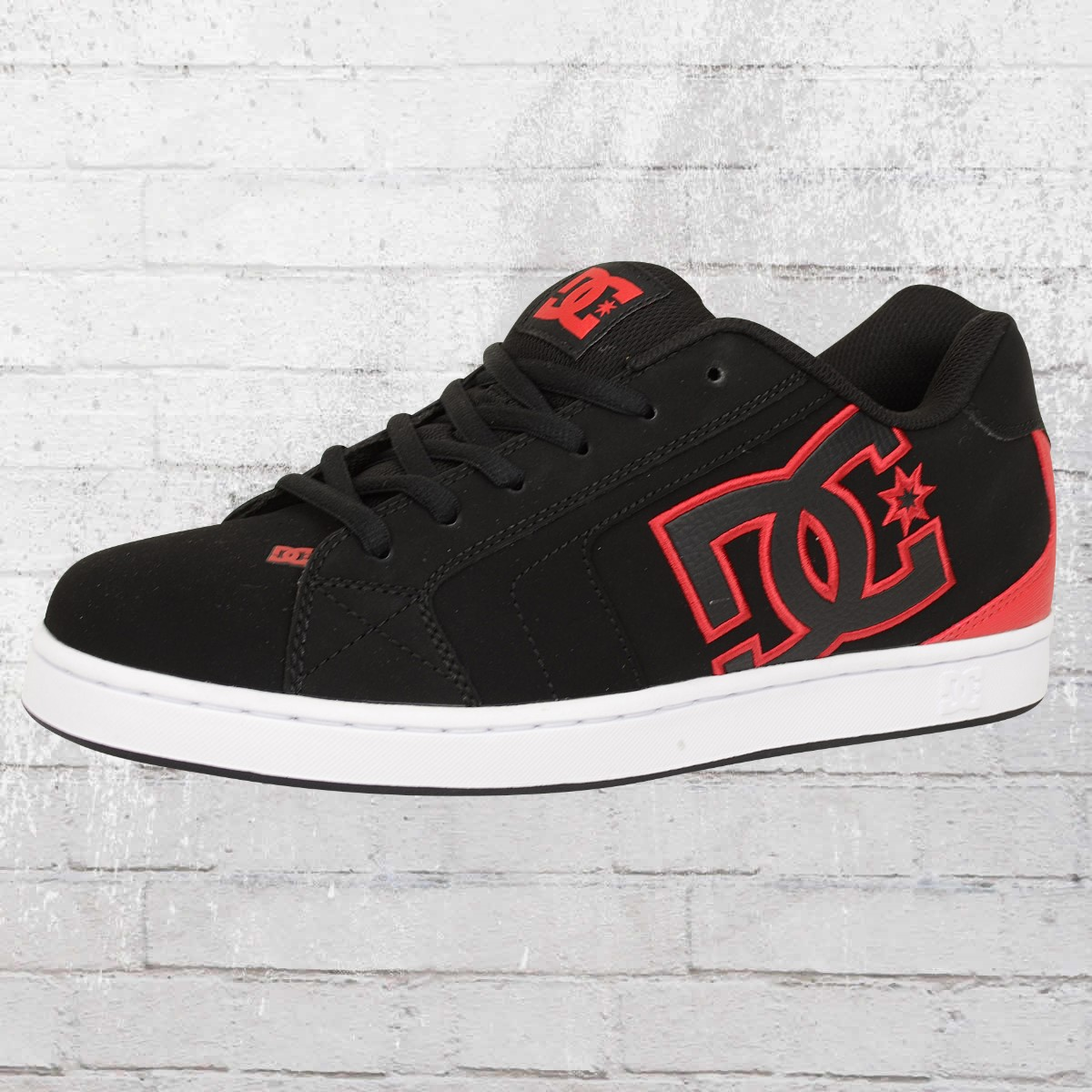 new arrival 2cf63 577a0 Order now | DC Shoes Male Sneaker Net black red