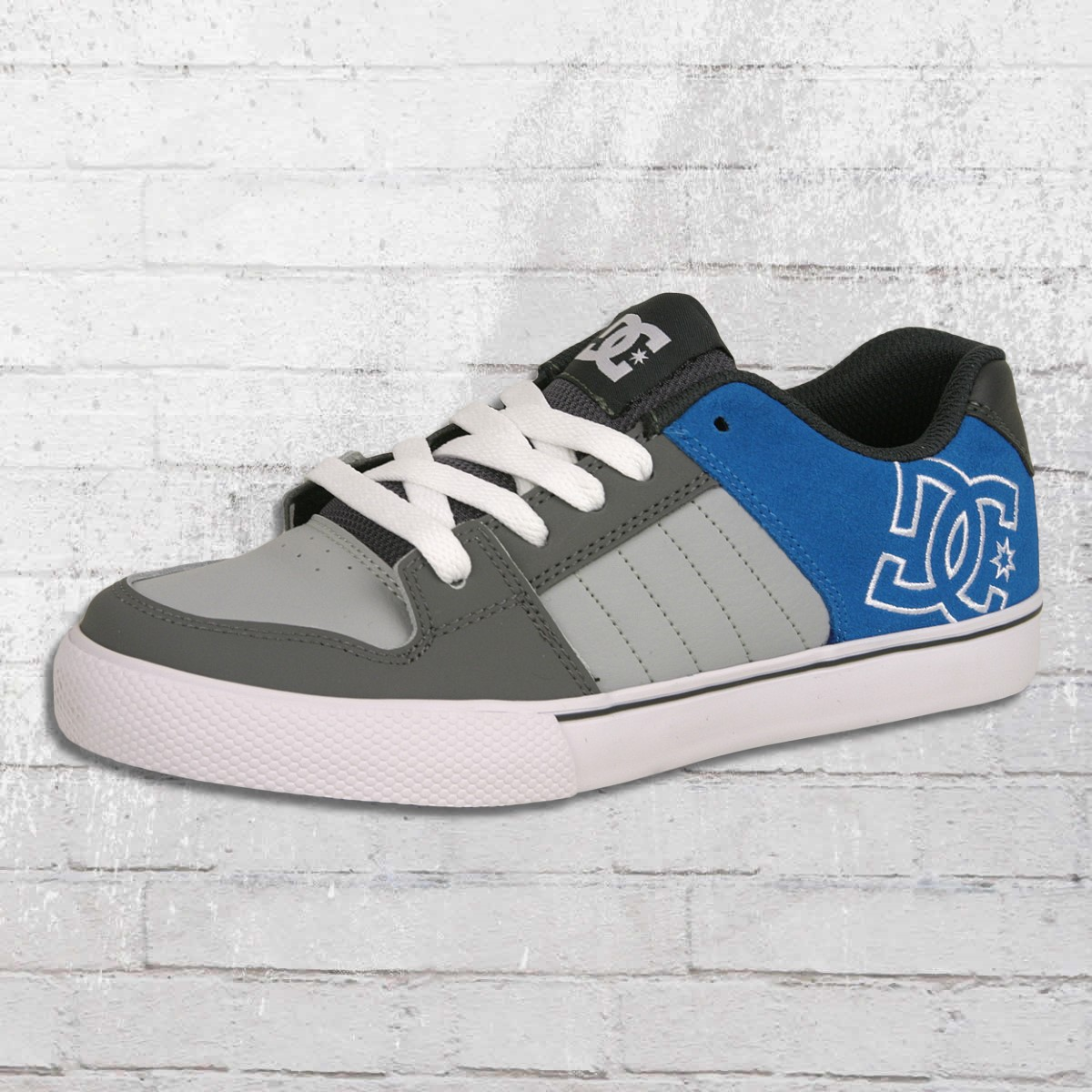 new products dc35b 302eb Jetzt bestellen | DC Shoes Kinder Schuhe Chase grau blau ...