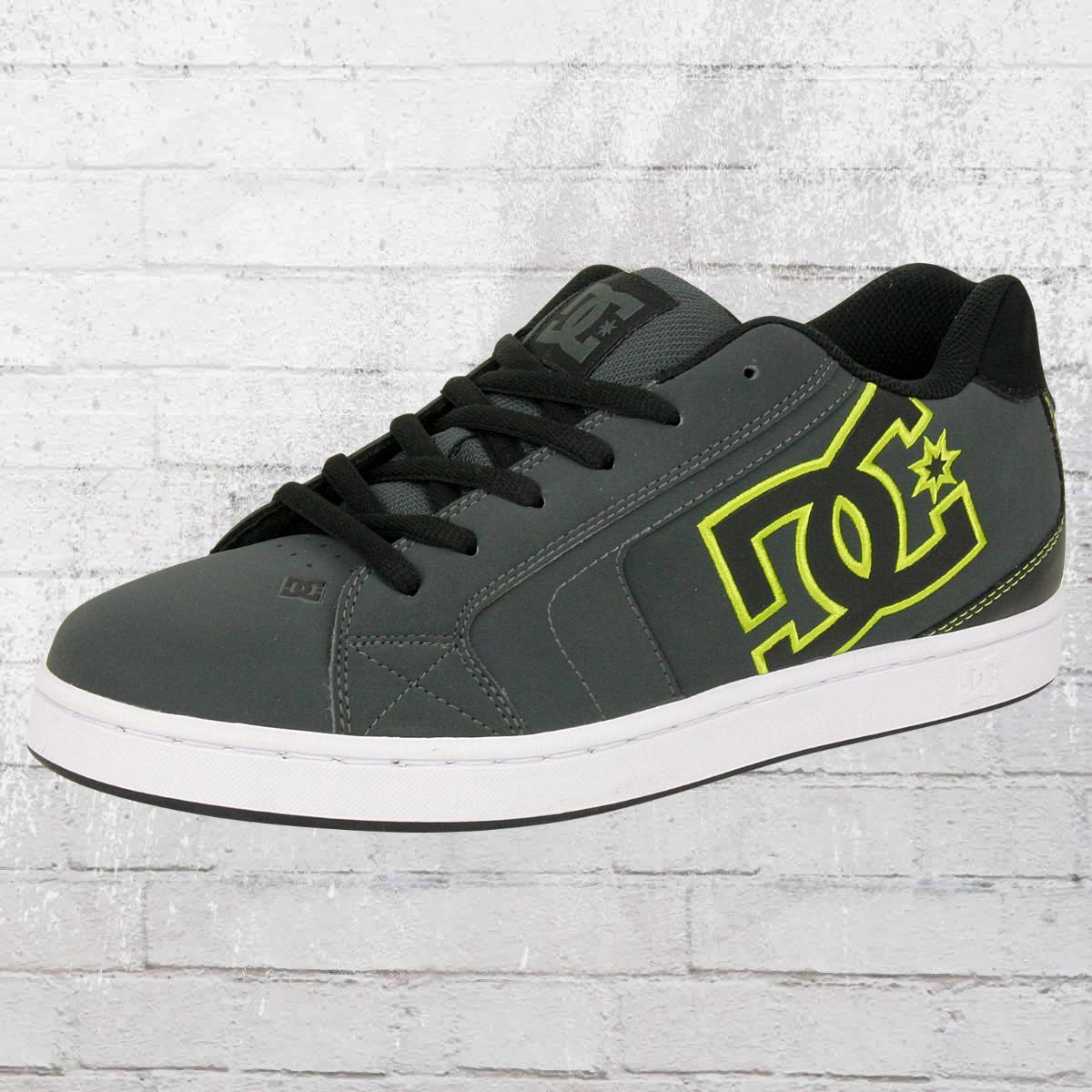 half off a4b7e 3c6ff Order now   DC Shoes Sneaker Male Net grey green