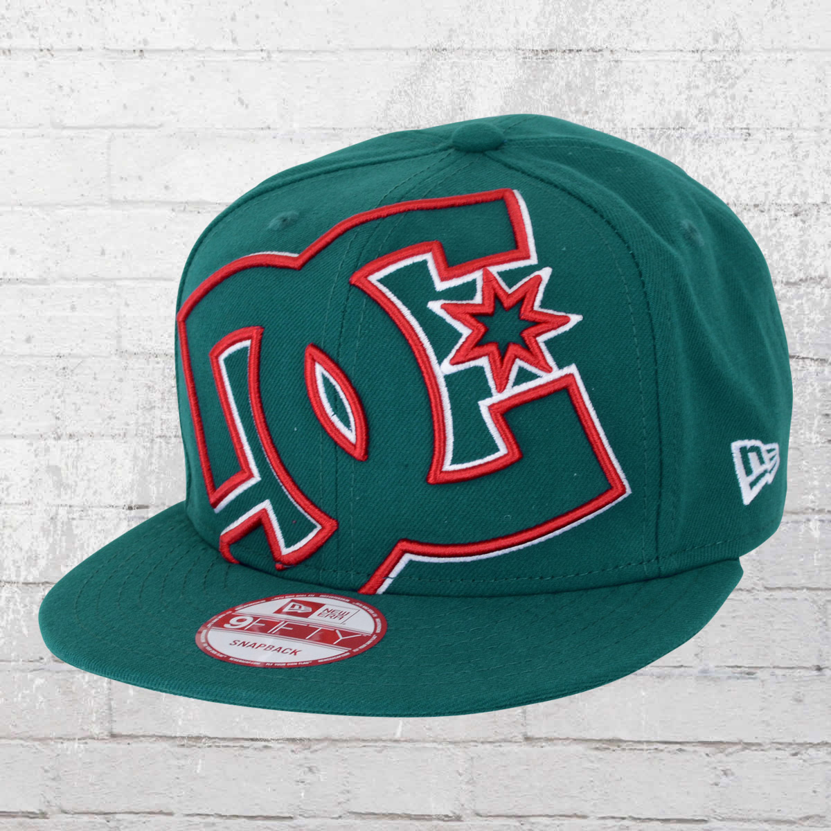 832c546f Order now | DC Shoes New Era Snapback Cap Double Up petrol
