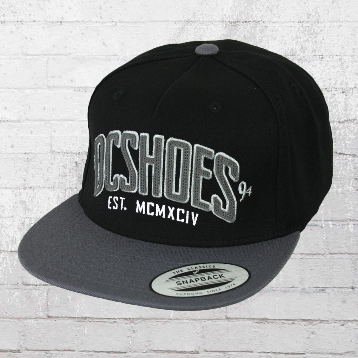 c93fcc1447c DC Shoes Snapback Base Cap Slipper M Hat black. ›‹ «