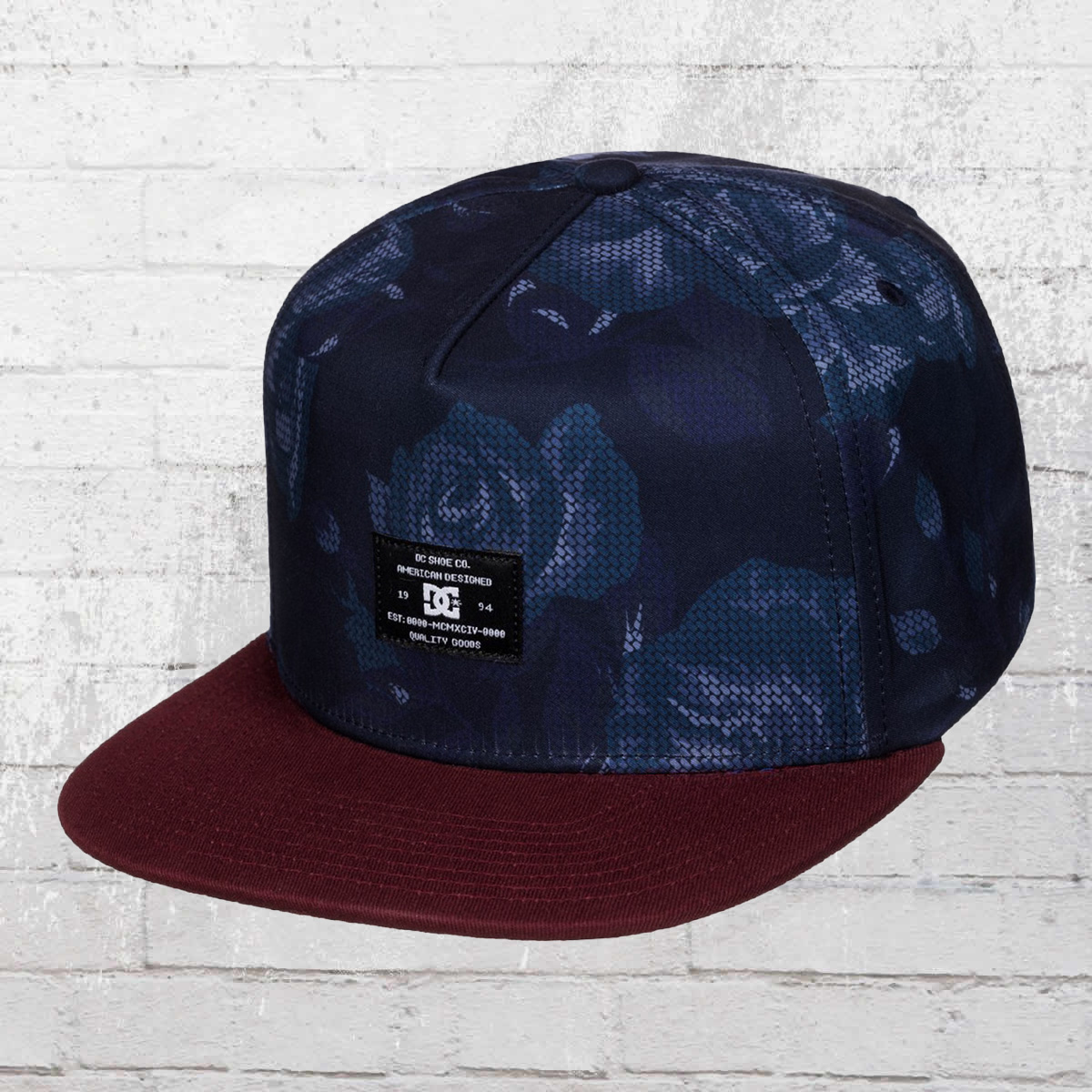 DC Shoes Snapback Breeson Cap navy wine. ›‹ «