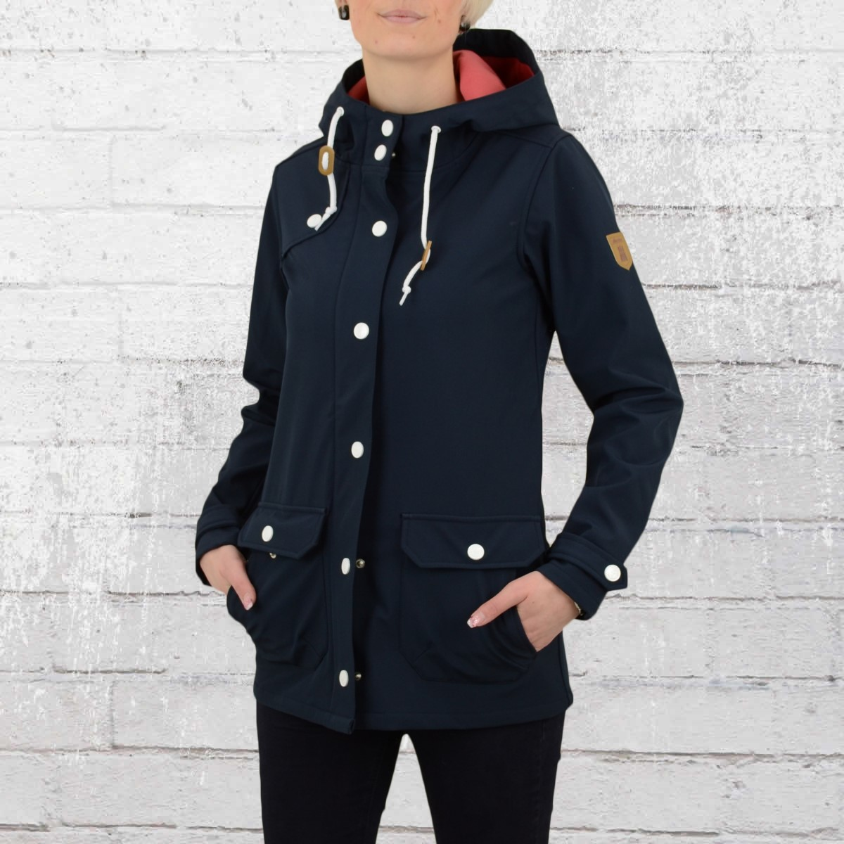 Navy Order Ladies Jacket NowDerbe Peninsula Rose Softshell lKT1Jc3F