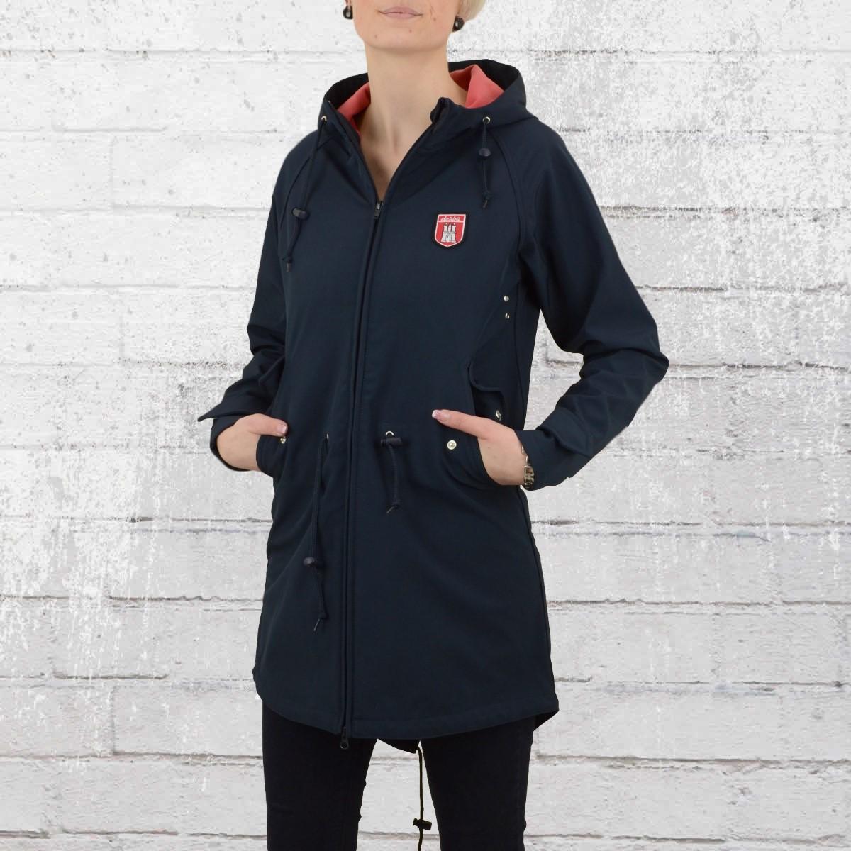 Order now | Derbe Ladies Softshell Coat Island Friese navy rose