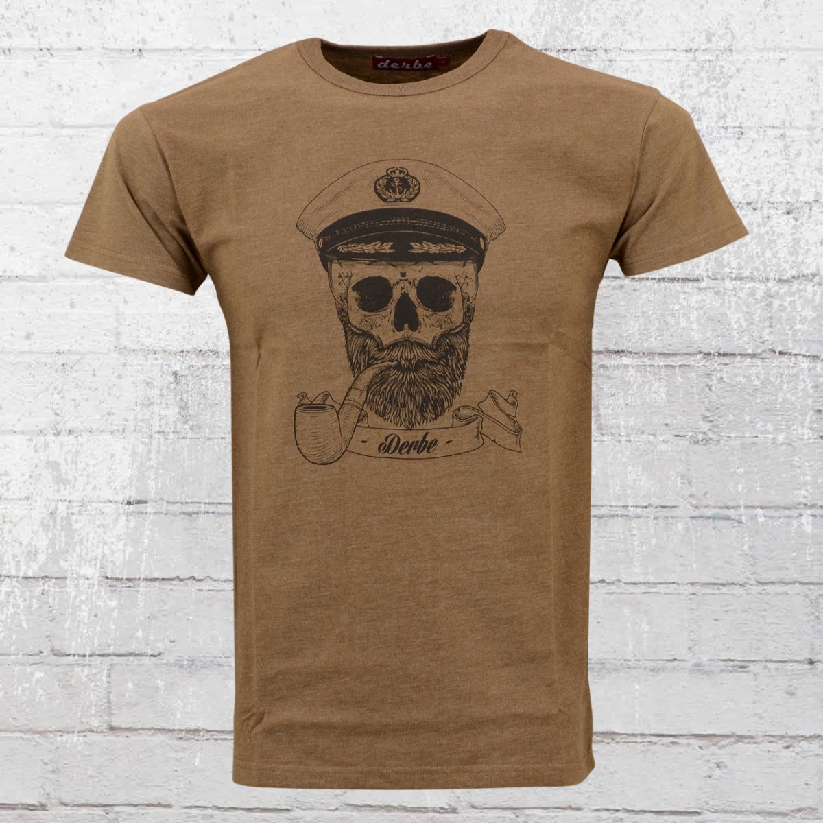 Braun Shirt Jetzt BestellenDerbe Hamburg T Spooky Männer Captain wTPXZiuOlk