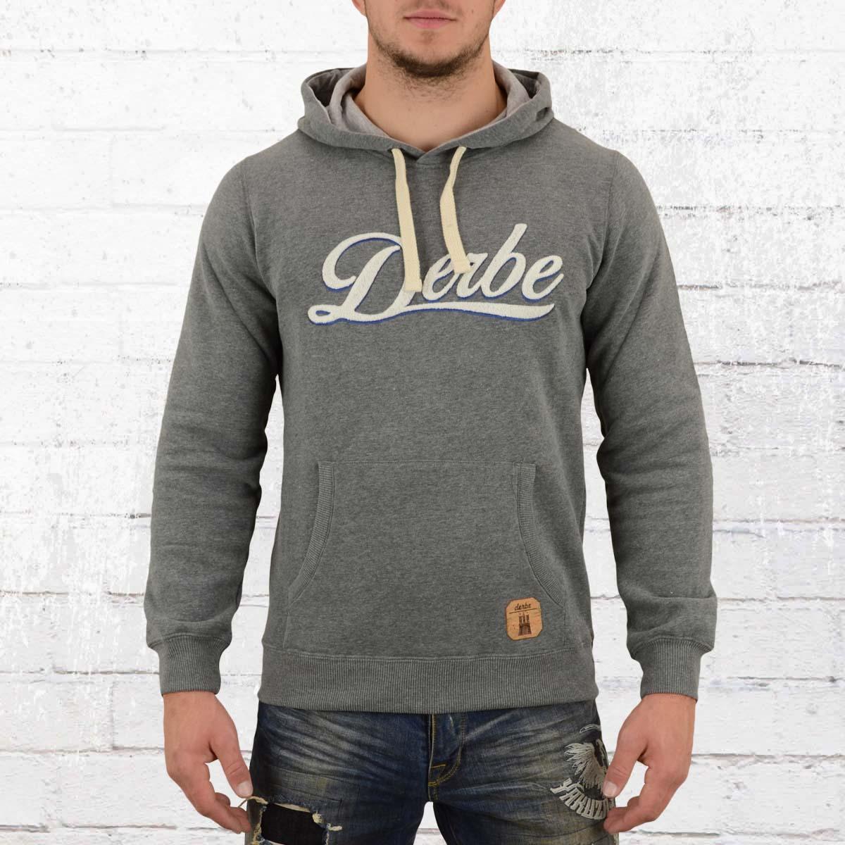 Order now | Derbe Male Hooded Sweater Roadmovie grey