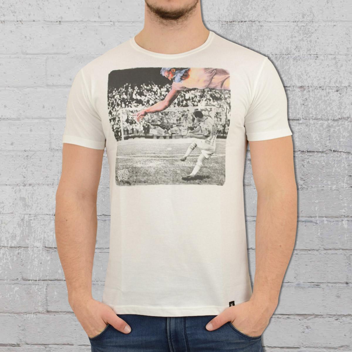 Dirty Velvet Mens T-Shirt Hand Of God vintage white. ›‹ «