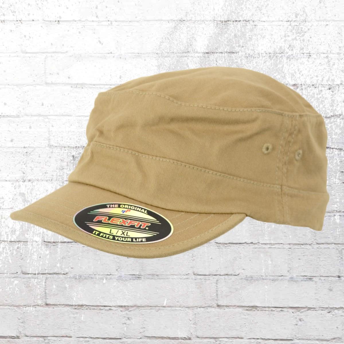 Order now | Flexfit Military Hat Top Gun Army Cap beige
