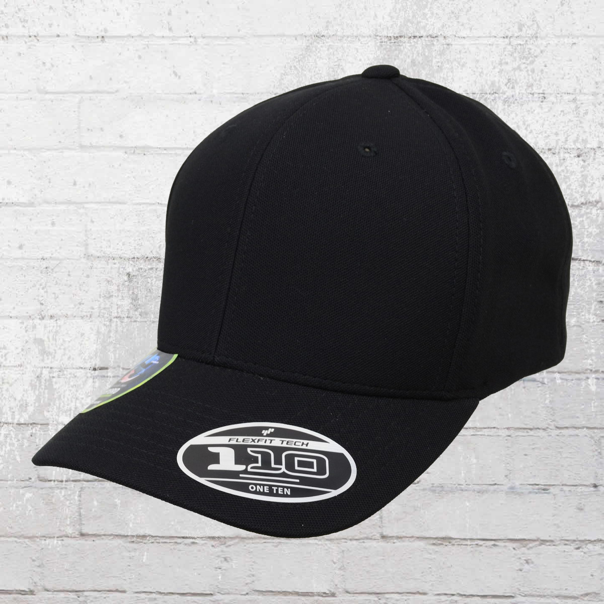 7e46c3c053e Flexfit Snapback Cap 110 Cool and Dry Mini Pique black
