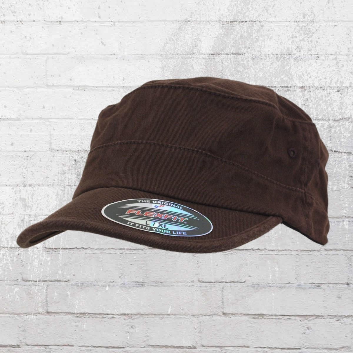 Order now | Flexfit Top Gun Cap Blanko Military Hat brown