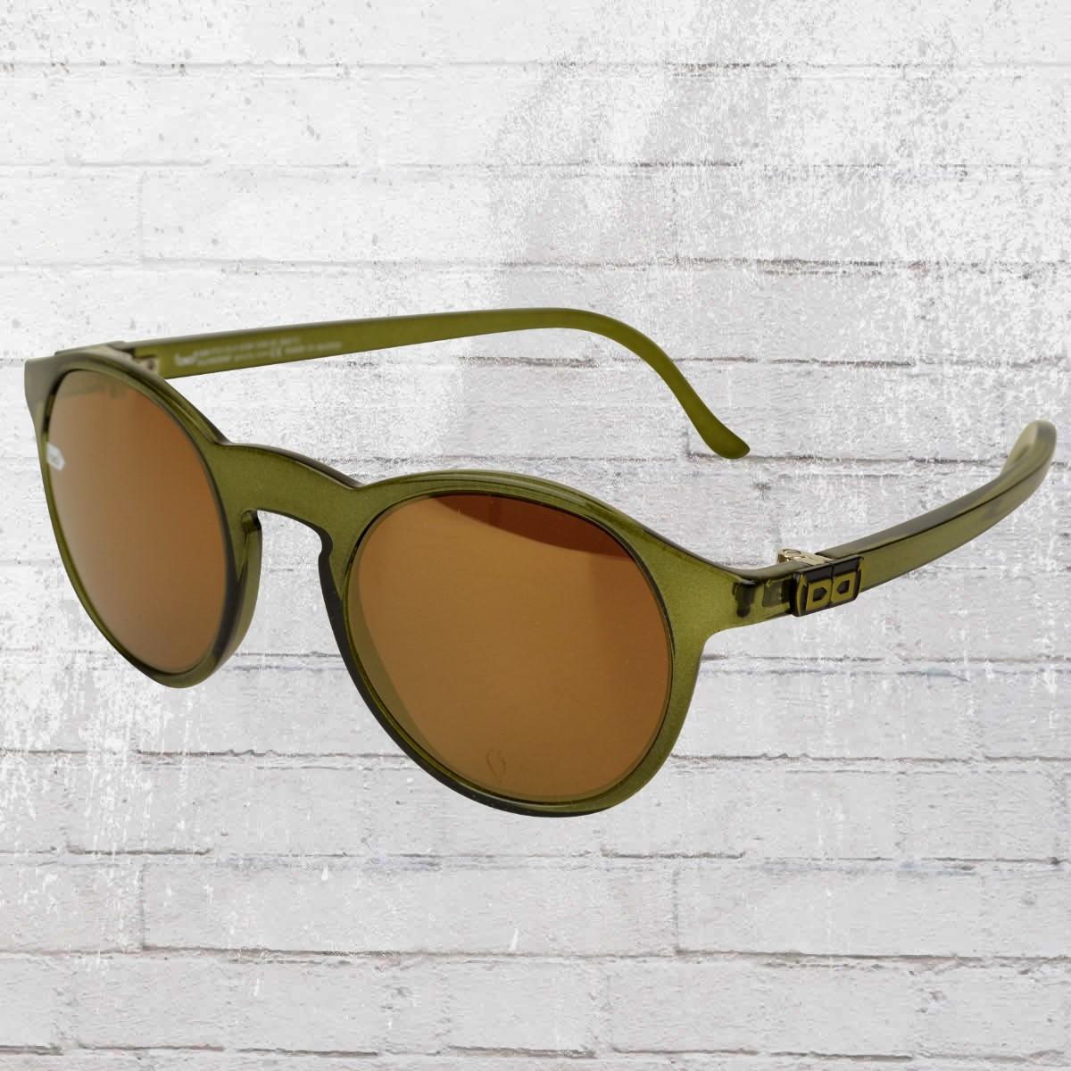 Jetzt bestellen | Gloryfy Sonnenbrille Unbreakable Gi8 Panto oliv ...