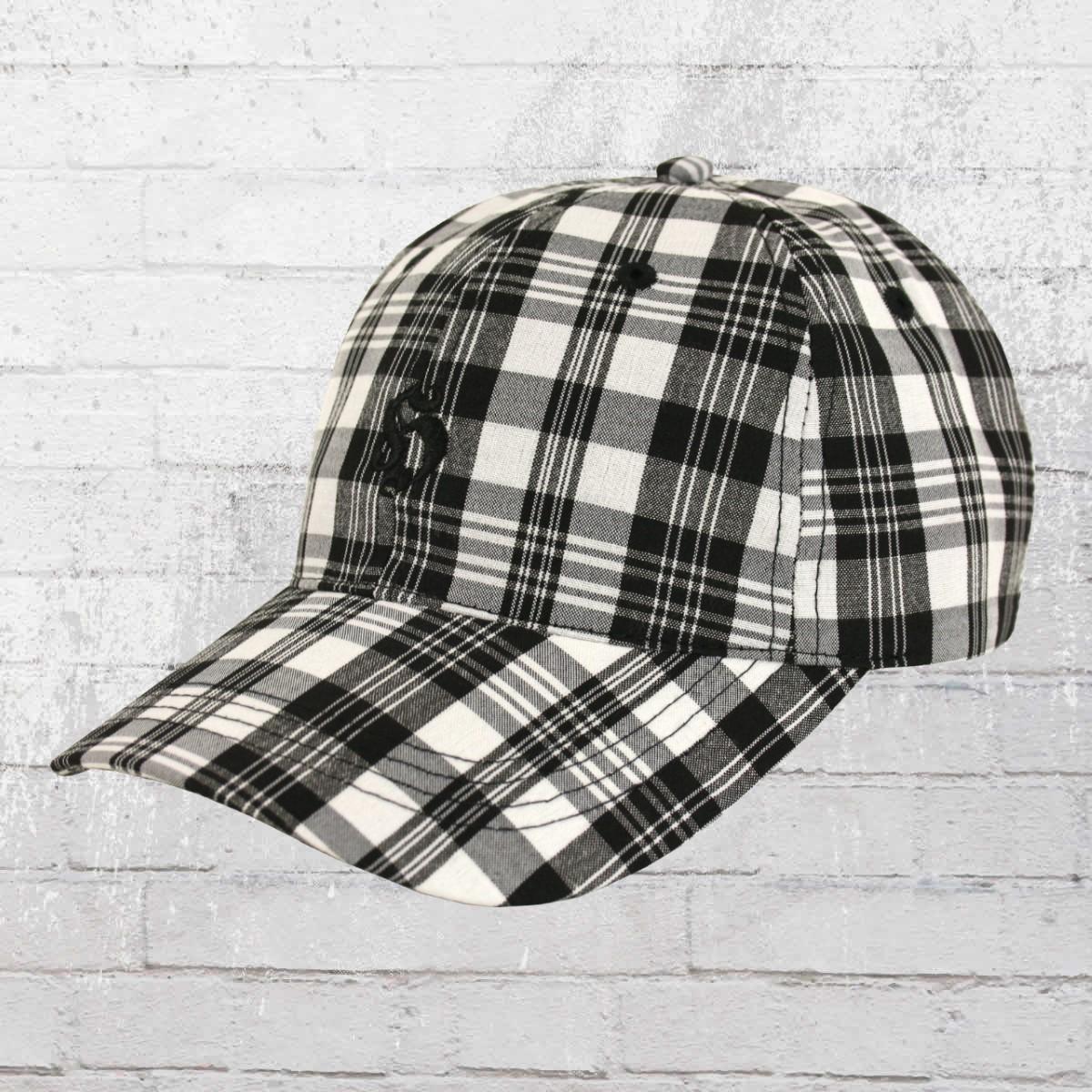 7fbf3cdf64c Hooligan Plaid Cap Golf New black check. ›‹ «