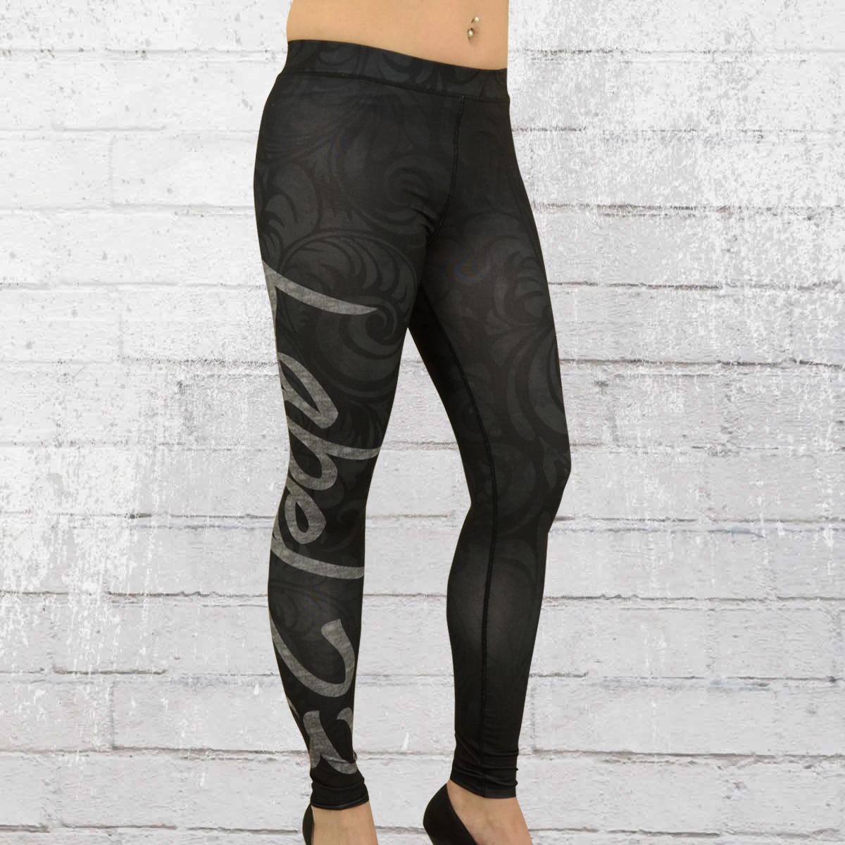 jetzt bestellen label 23 frauen leggings superior sports schwarz grau krasse. Black Bedroom Furniture Sets. Home Design Ideas
