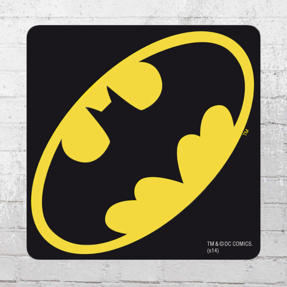 Jetzt bestellen | Logoshirt Coaster Batman Logo Untersetzer schwarz ...