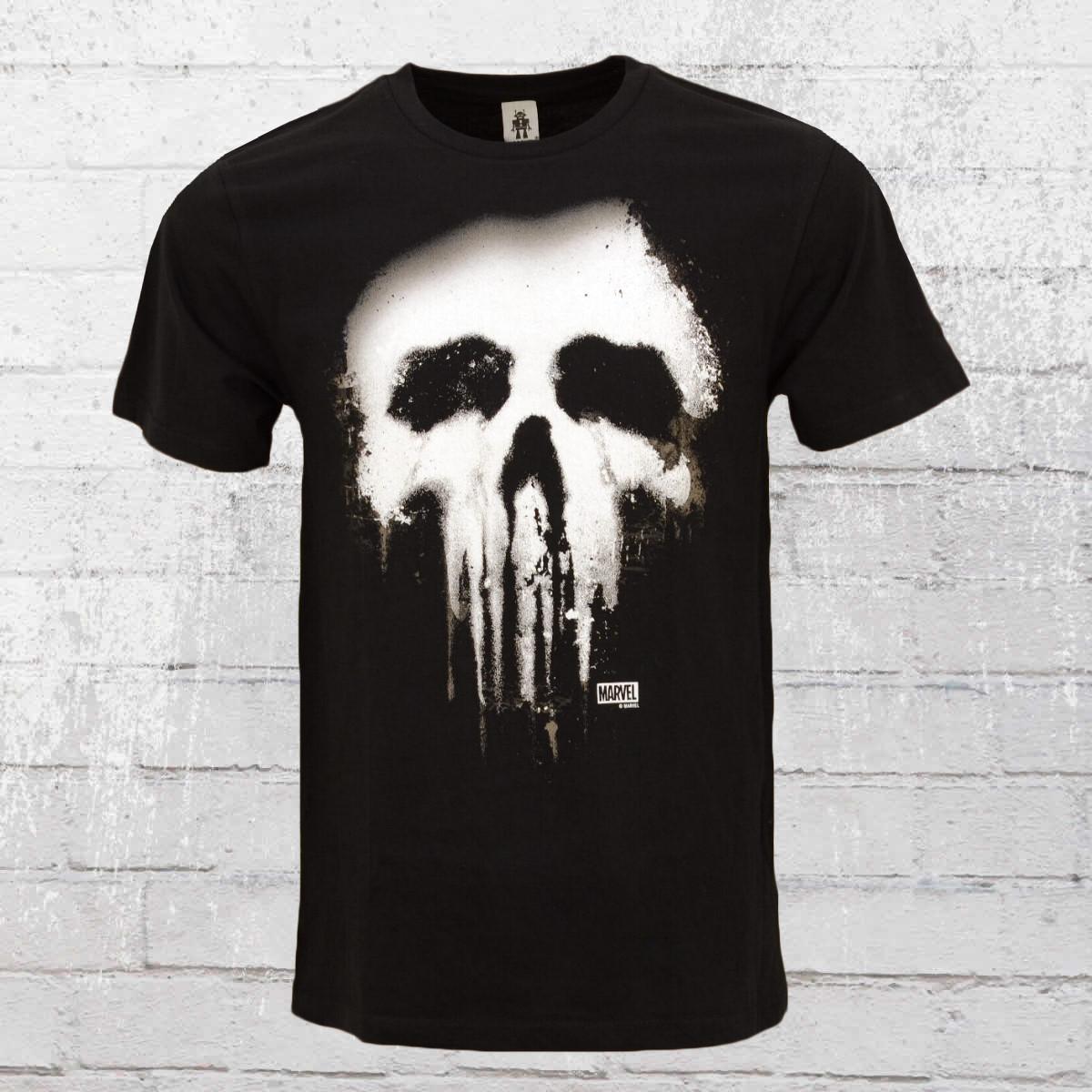 a1b42ebeb132cb Order now | Logoshirt Male T-Shirt Punisher New Skull black