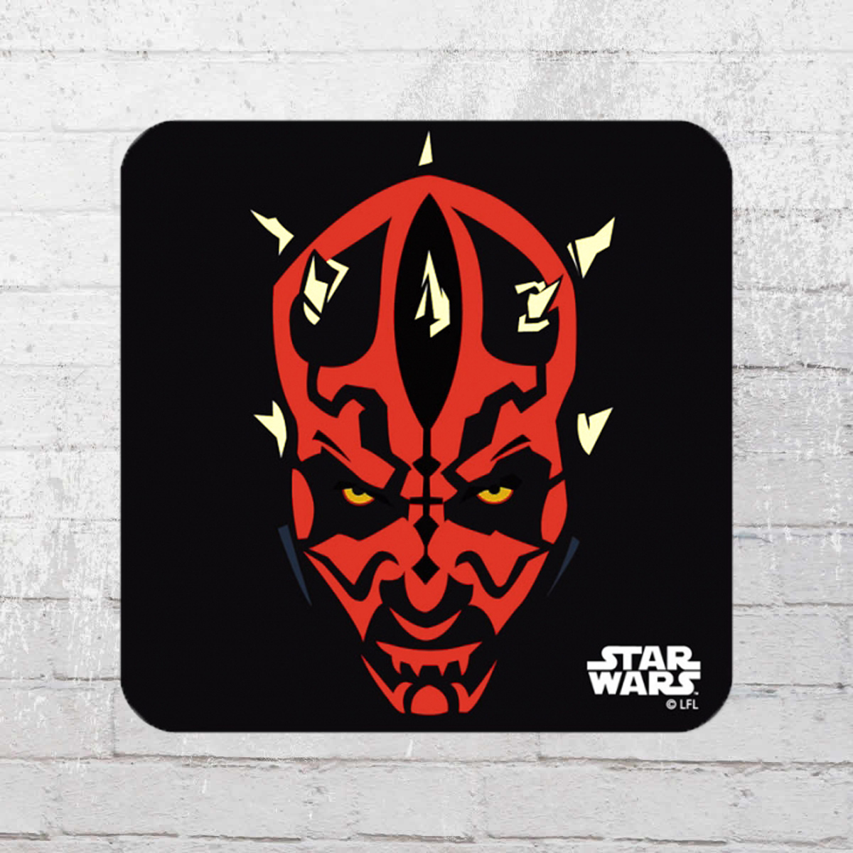 Jetzt Bestellen Logoshirt Star Wars Darth Maul Coaster Untersetzer