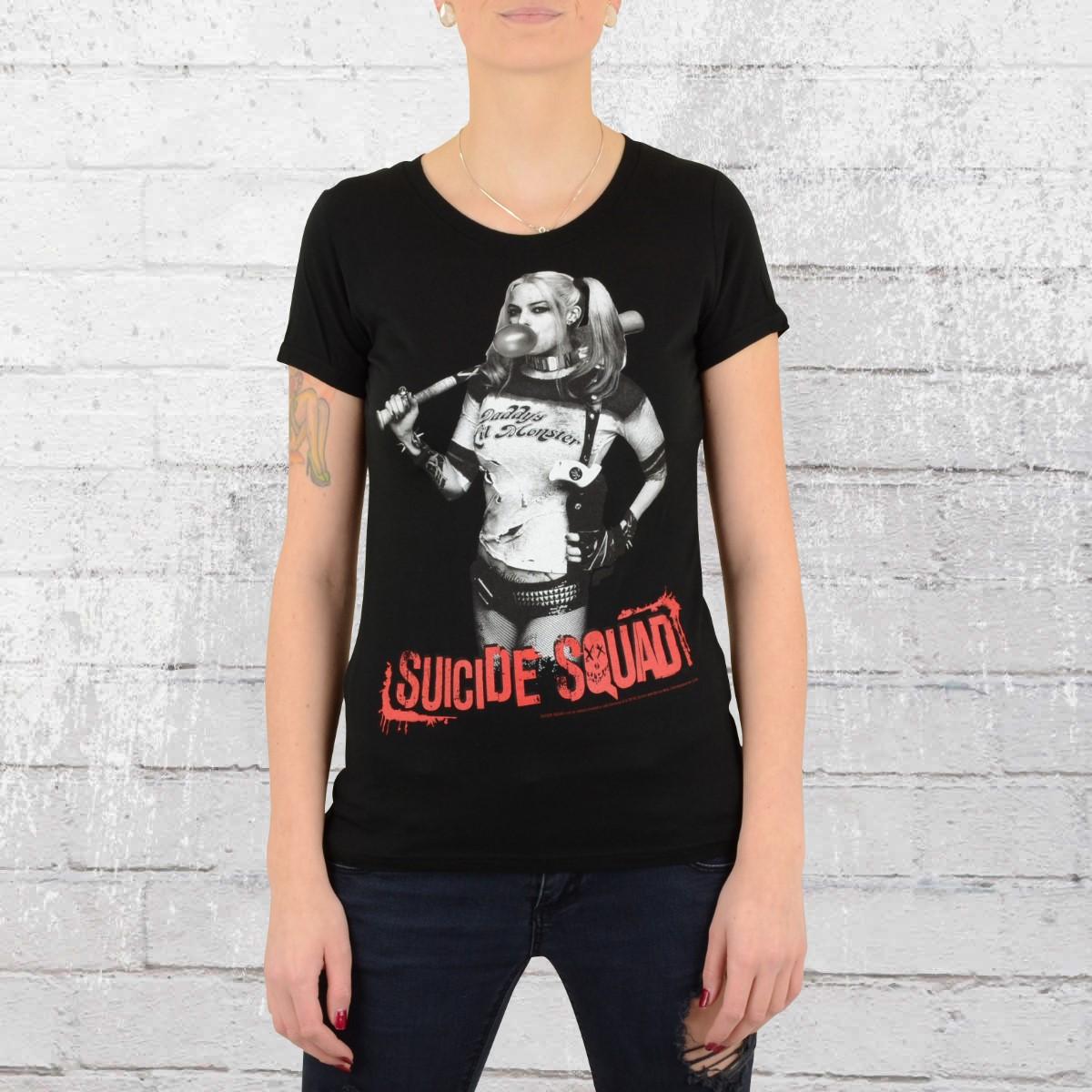 Suicide Squad Damen T-Shirt Harley Quinn