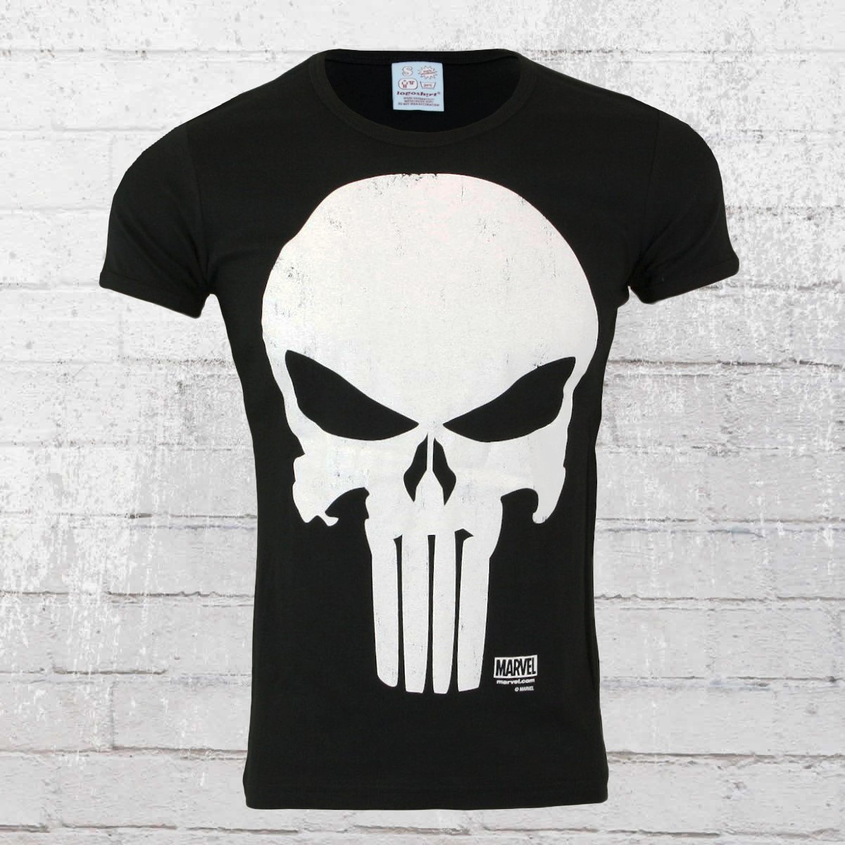 c70fc4222968 Order now | Logoshirt T-Shirt Men Marvel Punisher black