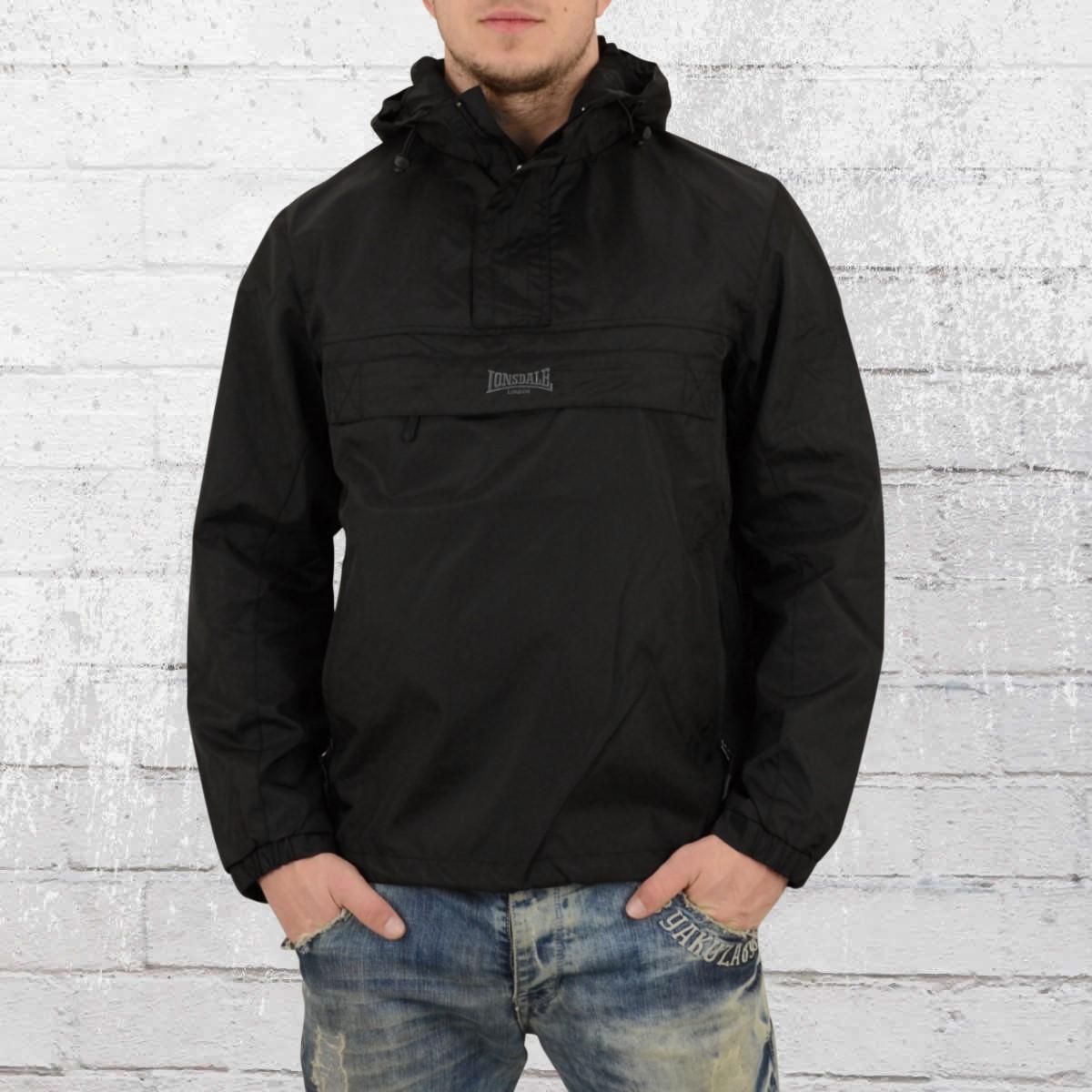 Lonsdale London Mens Windbreaker Jacket Blockbreaker black. ›‹ « ebcfddf032