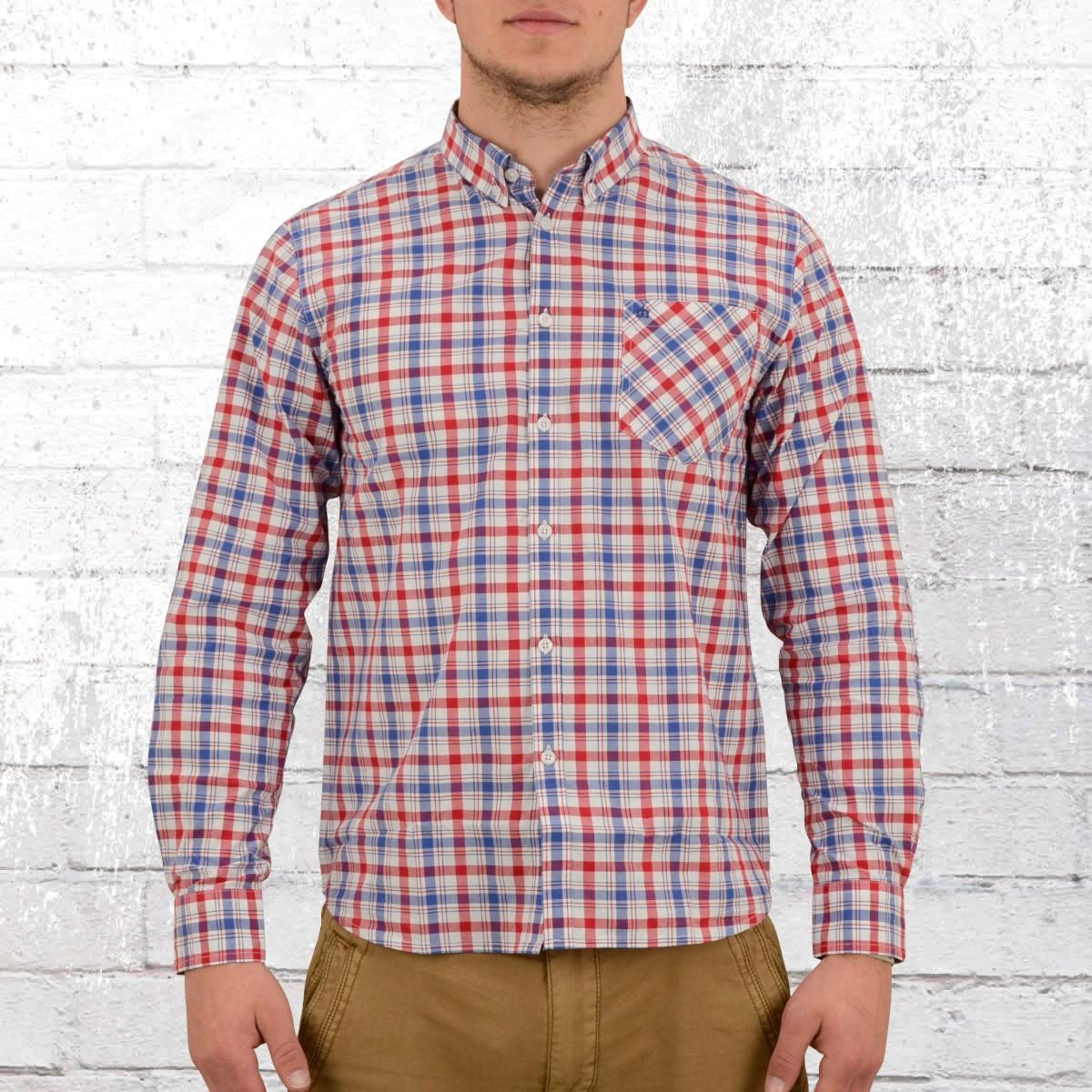 d5eb5988a70 Merc Check Shirt Longsleeve Button-Down Walpole red blue white. ›‹ «