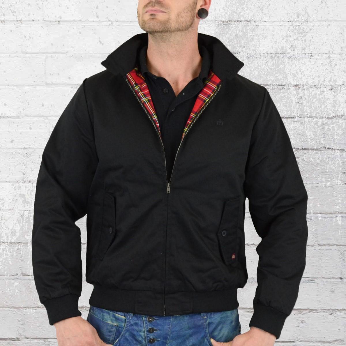 Order London Jacket Men NowMerc Harrington Black Yf6gb7y