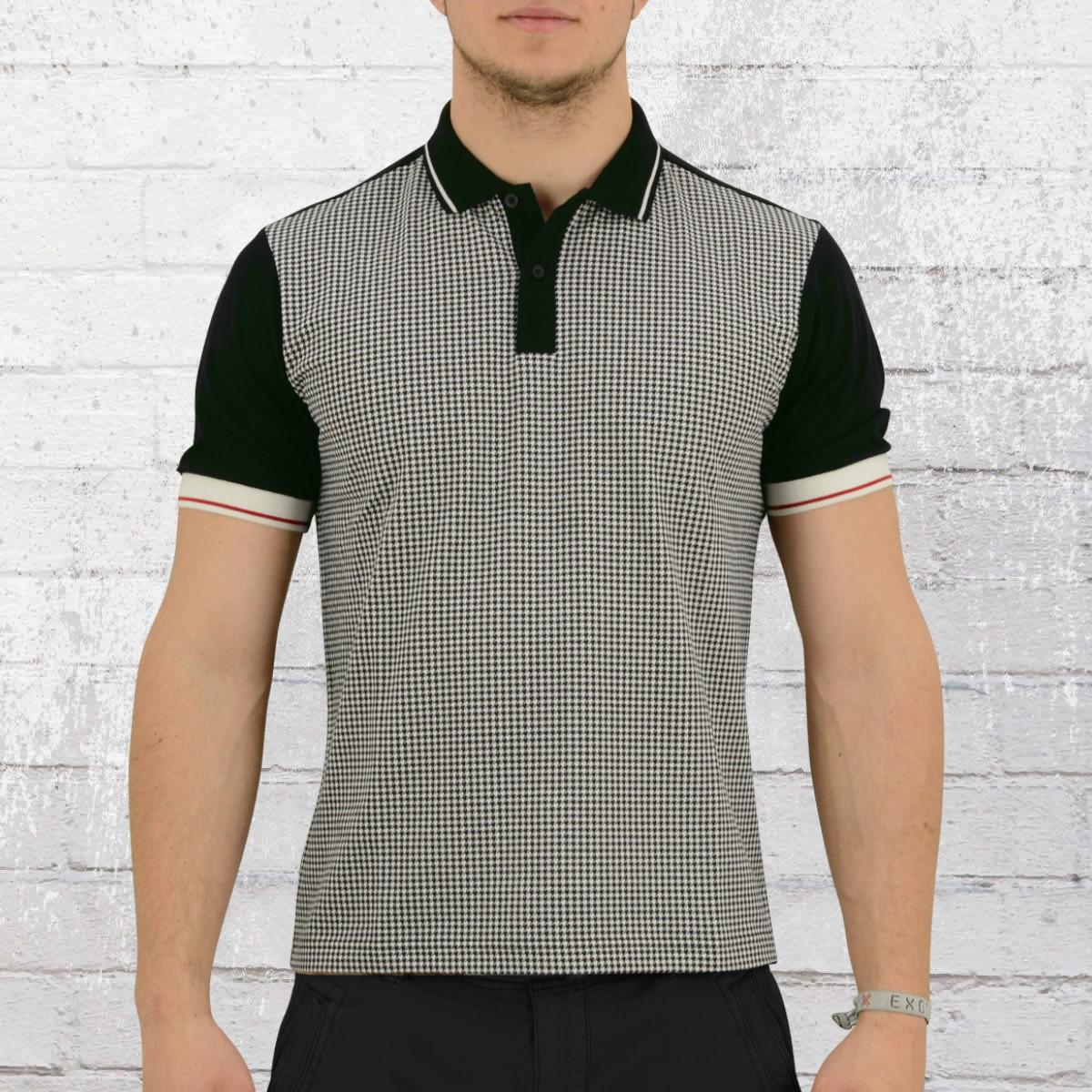 Merc London Polo Shirt Corona Men black white. ›‹ «