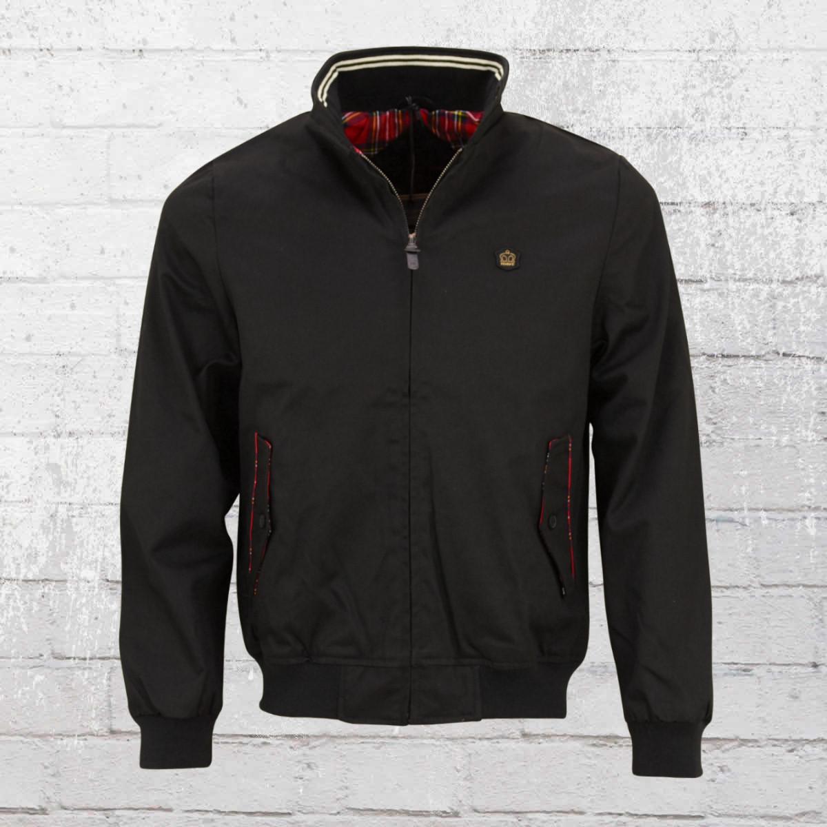 Merc London Limited Harrington Fifty Jacket black. ›‹ «