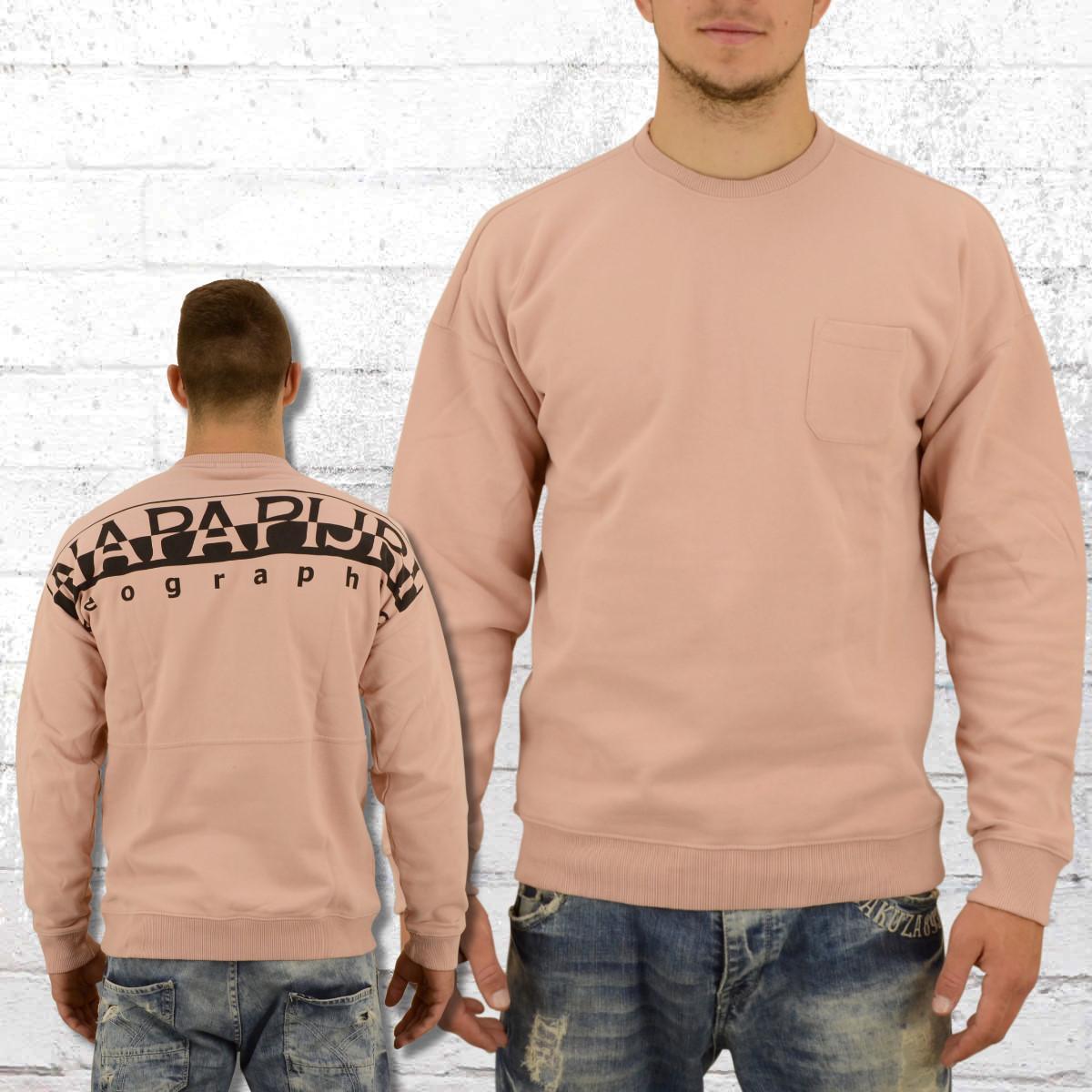 Order now   Napapijri Mens Sweater Badstow old rose