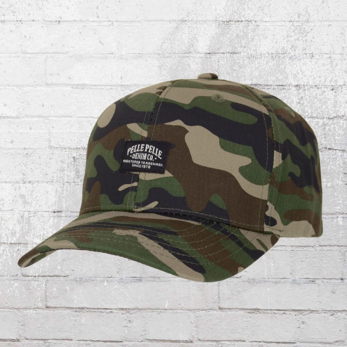Pelle Pelle Curved Cap Core Label Snapback Hat woodland. ›‹ « 29a11399fa11