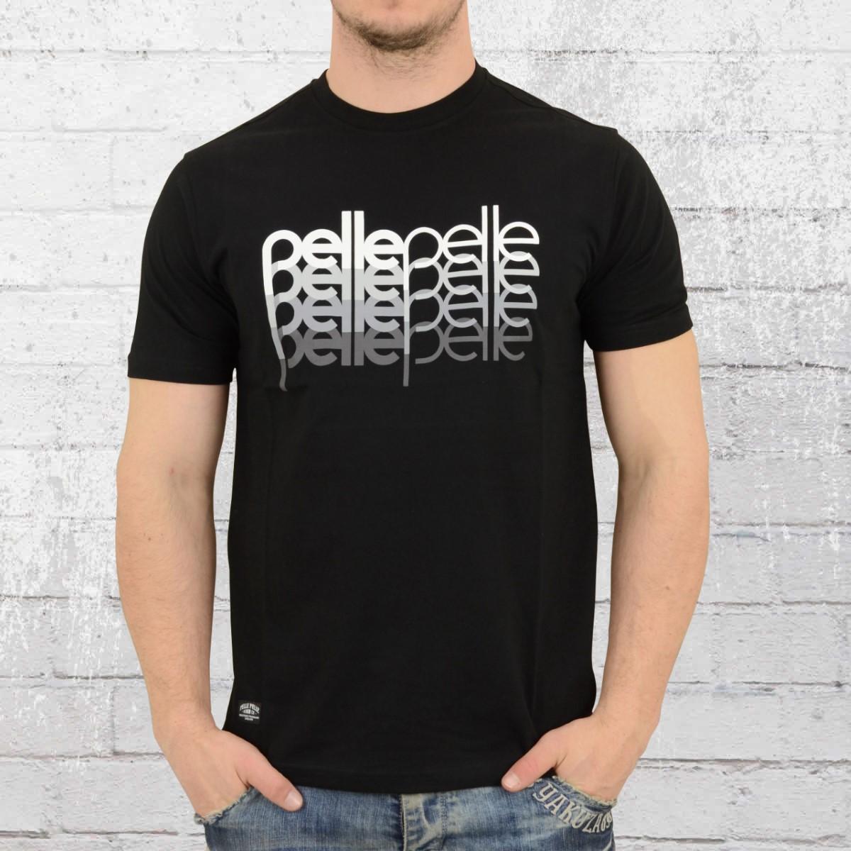 Pelle Pelle Mens T-Shirt 4 In A Row black. ›‹ «