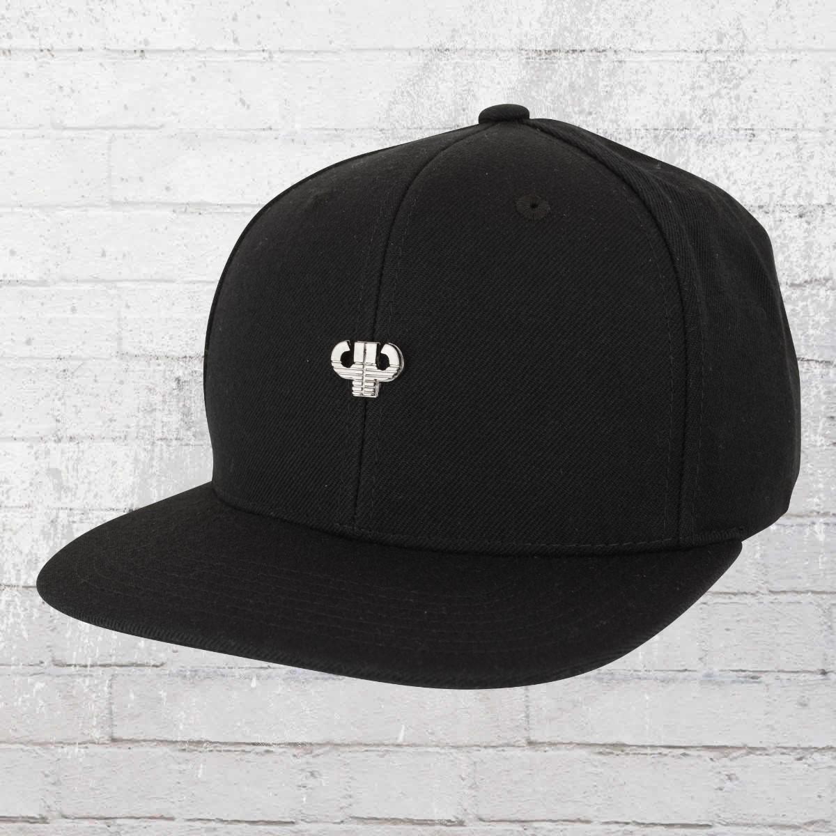 7219f9638c0 Order now pelle hat icon plate snapback cap black jpg 1200x1200 Pelle black  hats