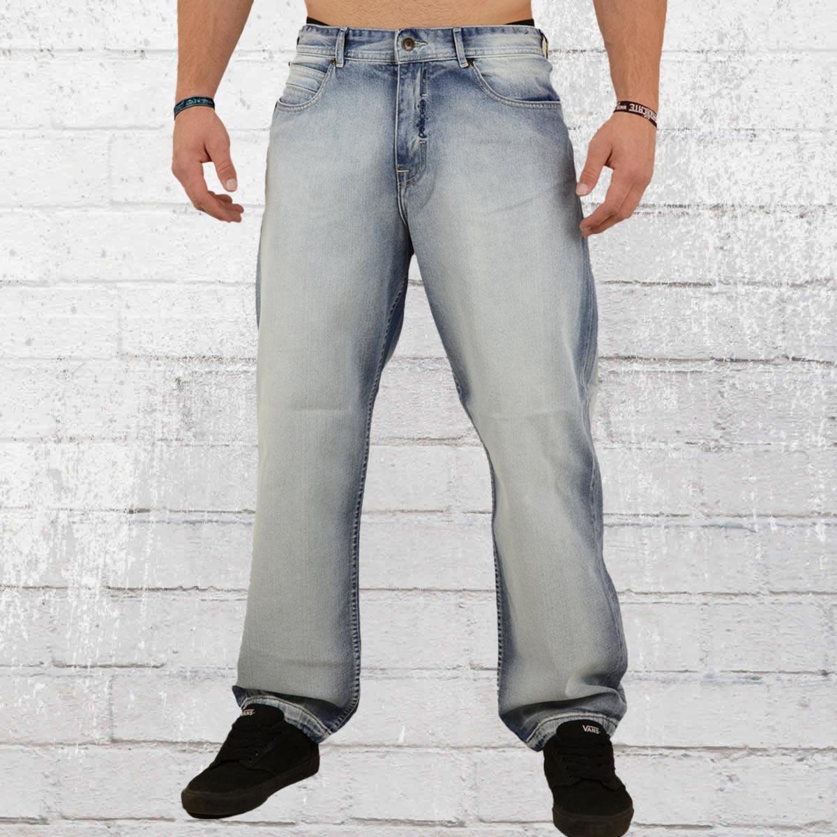 51ed5d25 Order now | Pelle Pelle Mens Jeans Baxter Baggy light blue wash