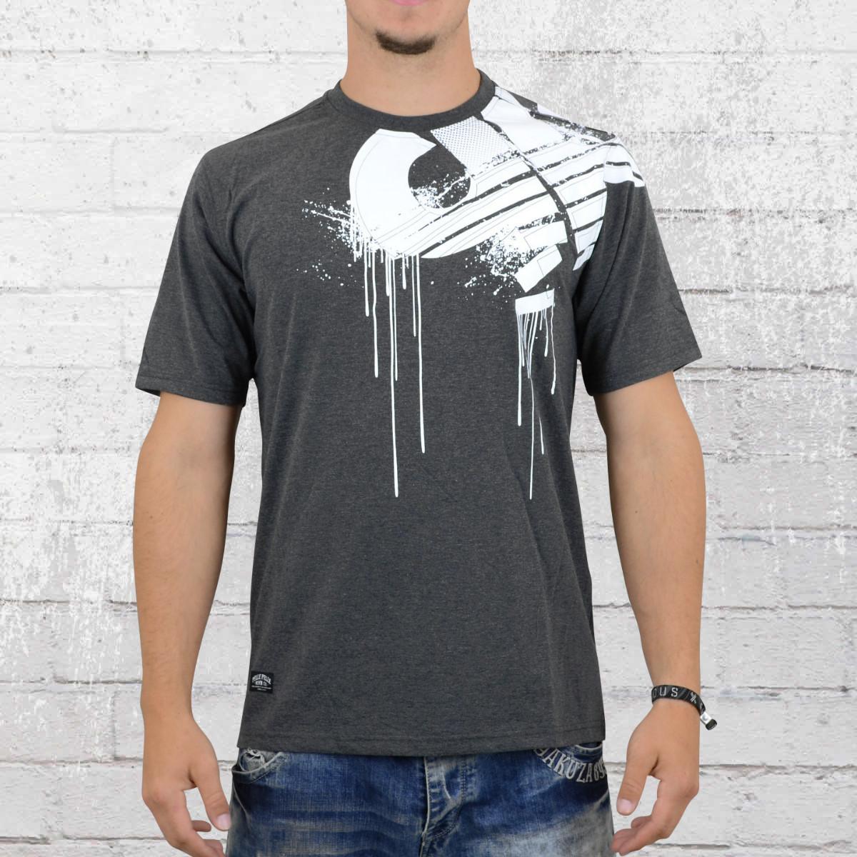 Pelle Pelle Mens T-Shirt Demolition charcoal. ›‹ «