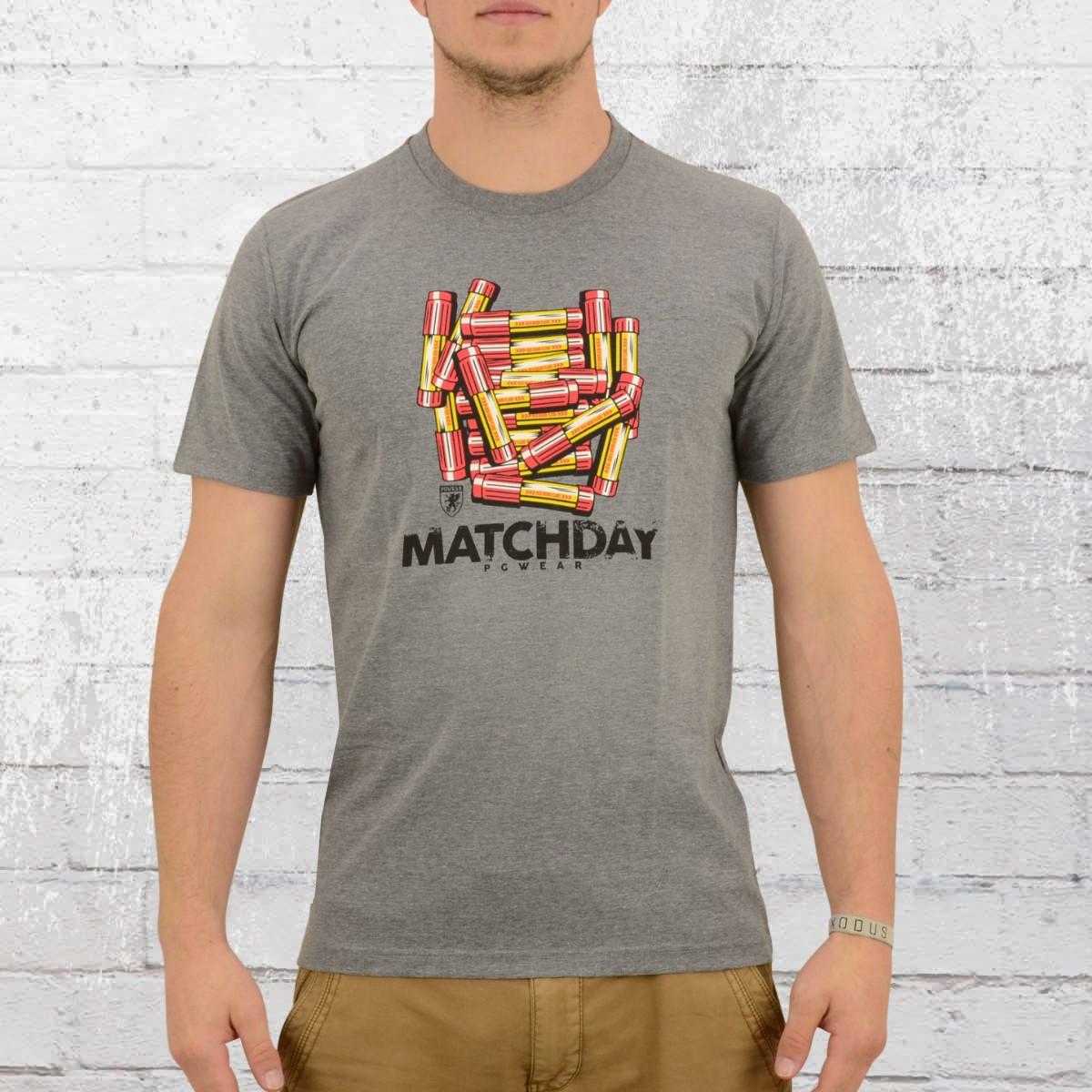 PG Wear Male T-Shirt Matchday grey. ›‹ «
