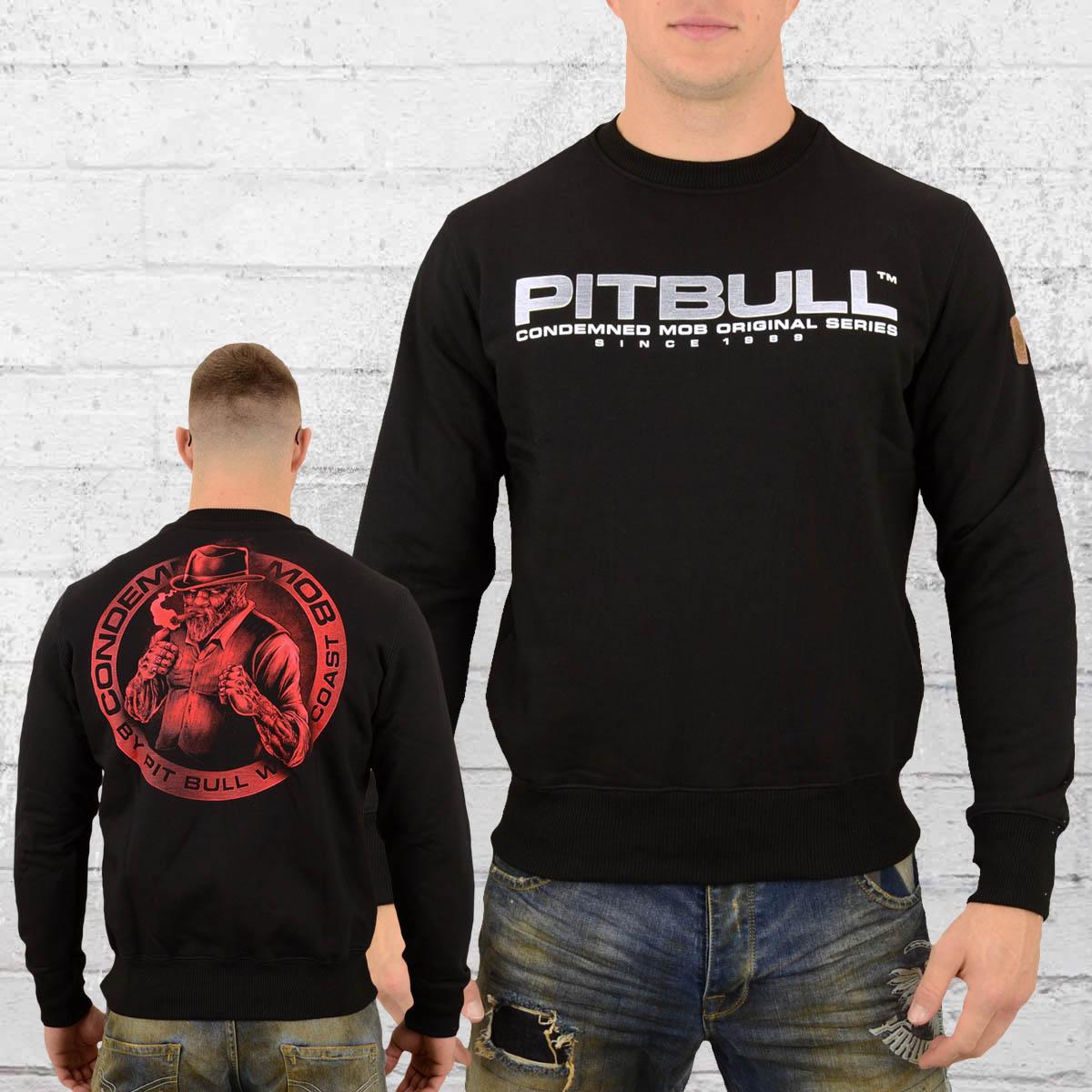 d9abc6d1757633 Order now   Pit Bull West Coast Mens Sweatshirt Boxer black