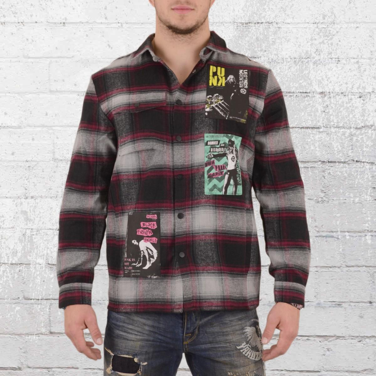 big sale 7a022 65a20 Jetzt bestellen | Religion Flanell Hemd Punk Shirt grau ...