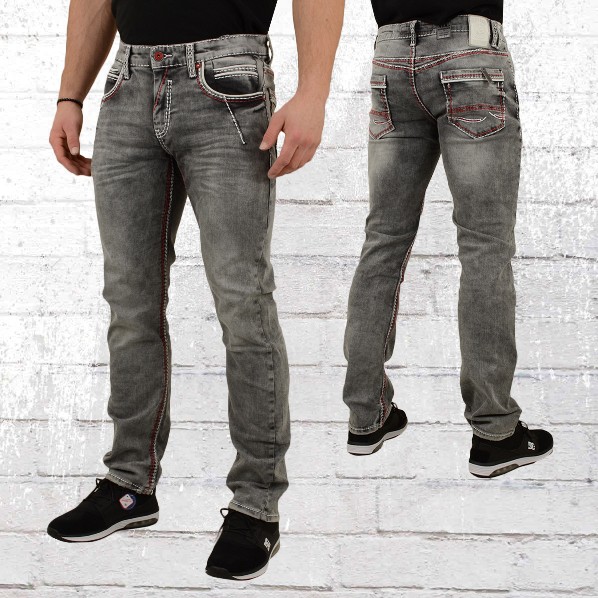 heiß-verkaufendes echtes Original wählen Rabatt Order now | Rusty Neal Mens Jeans New York 45 grey
